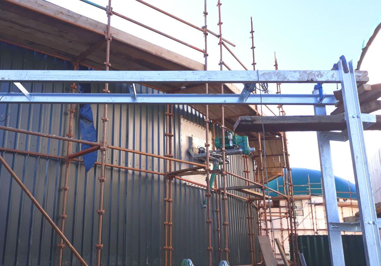 Planta de Biogás de 1MW en Savock Reino Unido 15