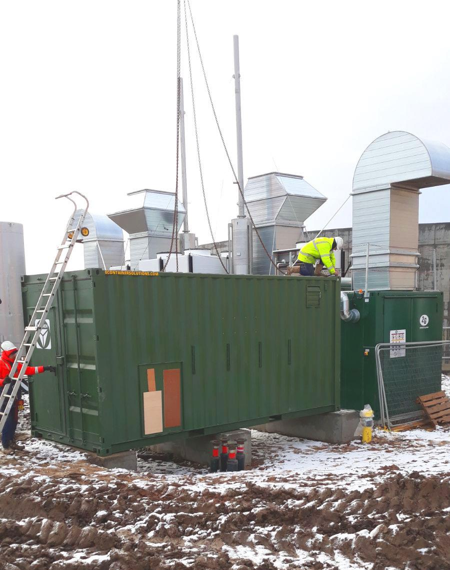 Planta de Biogás de 1MW en Savock Reino Unido 09