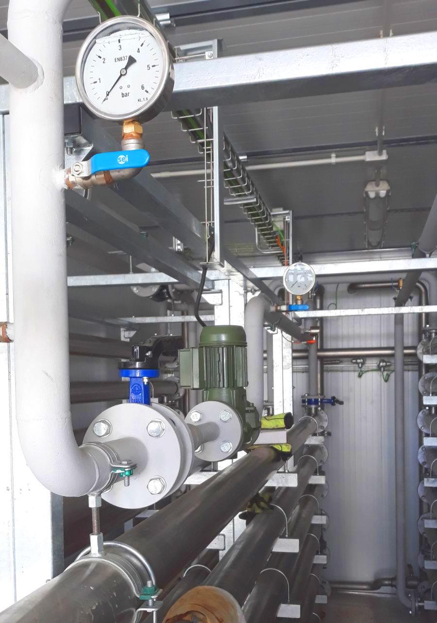 Planta de Biogás de 1MW en Savock Reino Unido 17