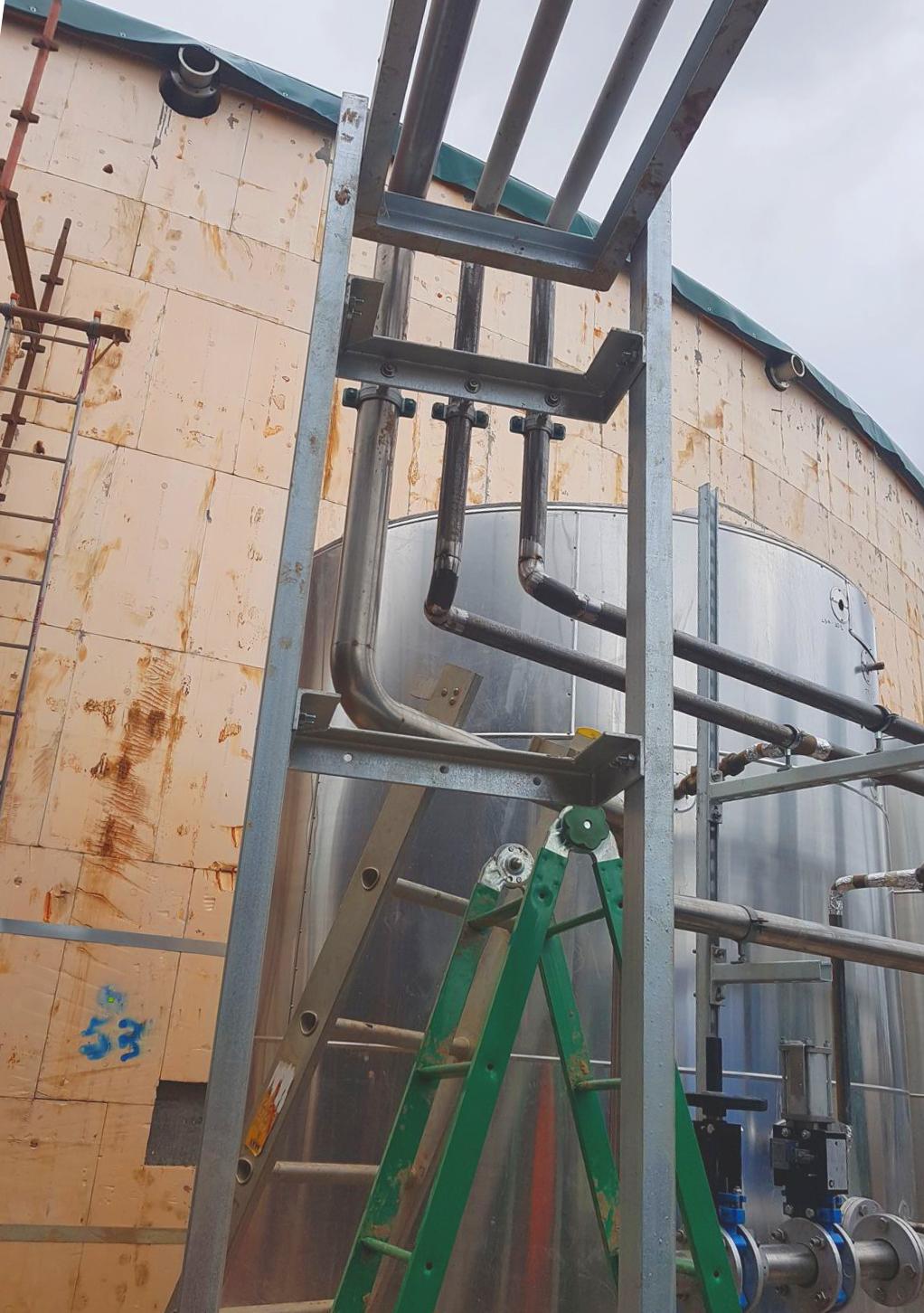 Planta de Biogás de 1MW en Savock Reino Unido 18