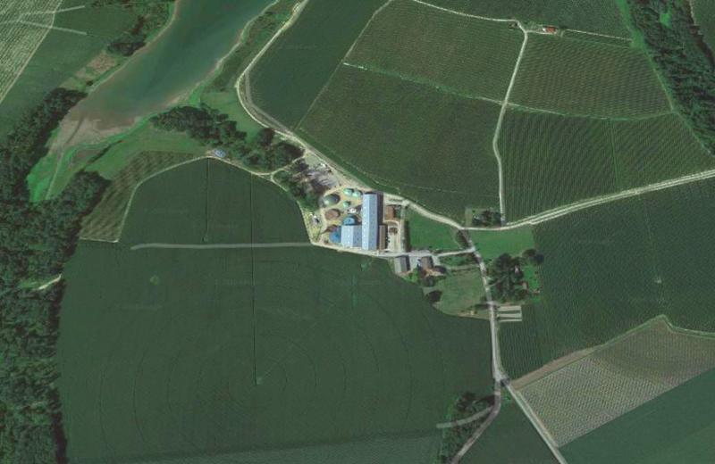 Planta de Biogás de 500 kW en Aire-sur-l'Adour Francia 01