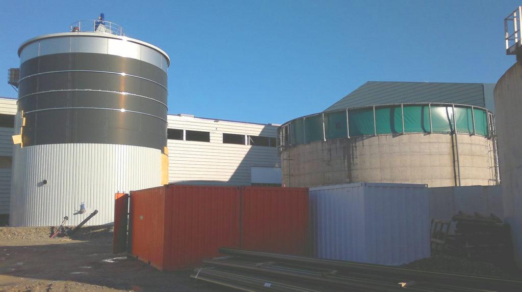Planta de Biogás de 500 kW en Aire-sur-l'Adour Francia 26