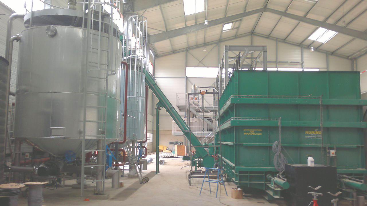 Planta de Biogás de 500 kW en Aire-sur-l'Adour Francia 06