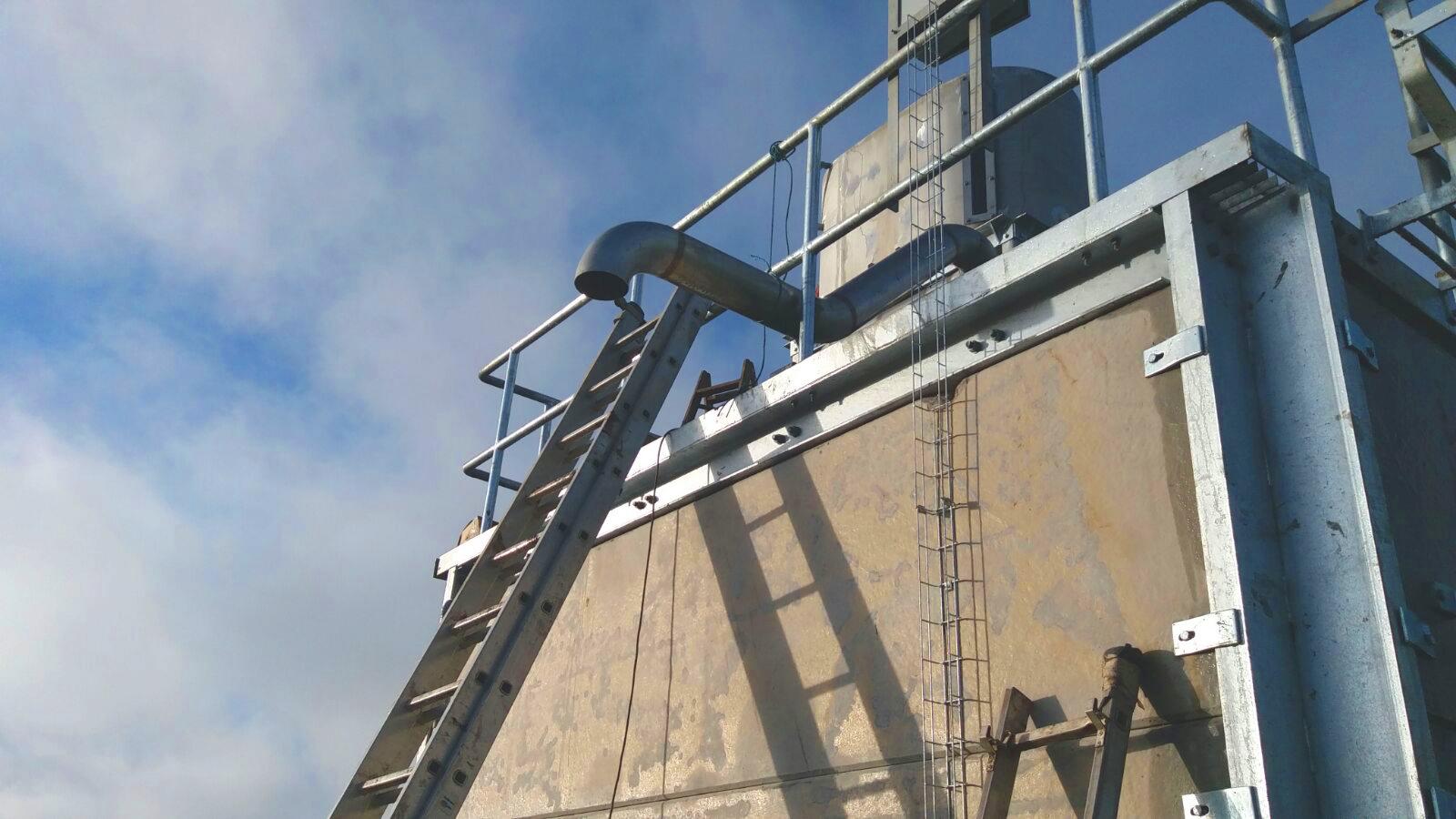 Separadores01-Planta Biogás 1MW Inchdairnie Reino Unido