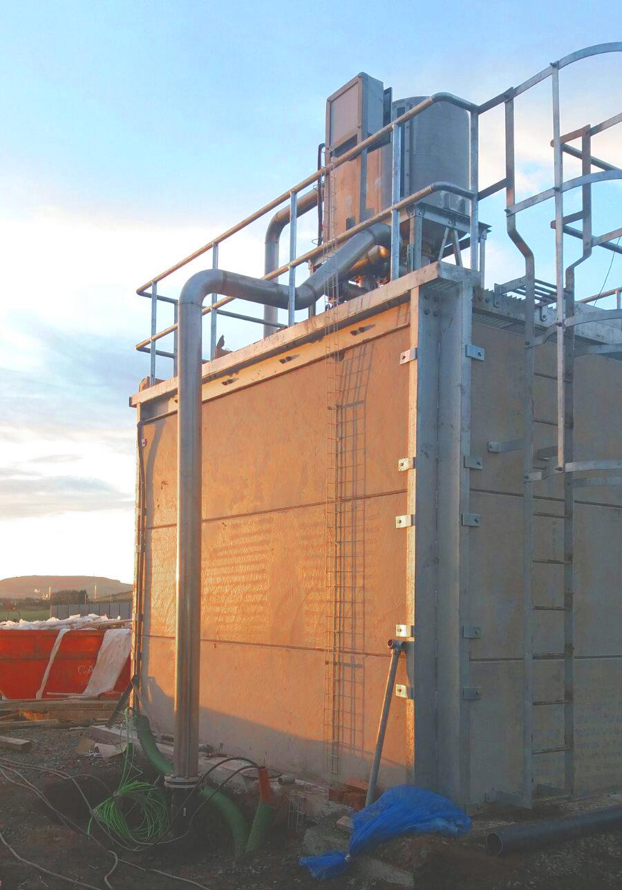 Separadores02-Planta Biogás 1MW Inchdairnie Reino Unido