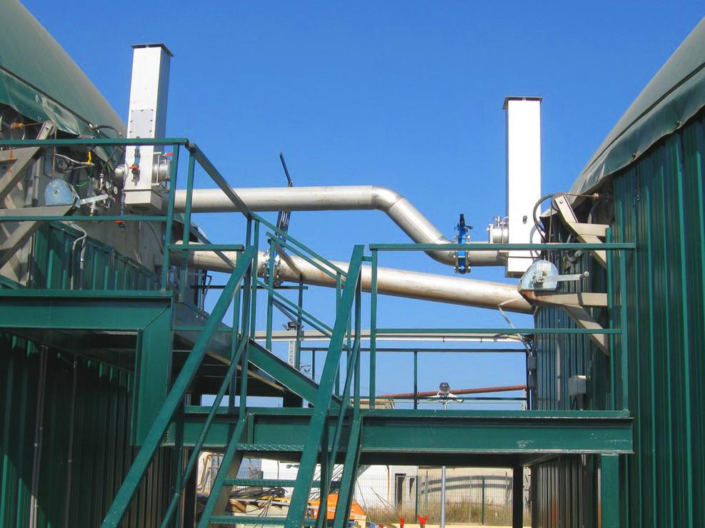 500kW Biogas Plant in Vall d'Uixó Castellón Spain INDEREN 11
