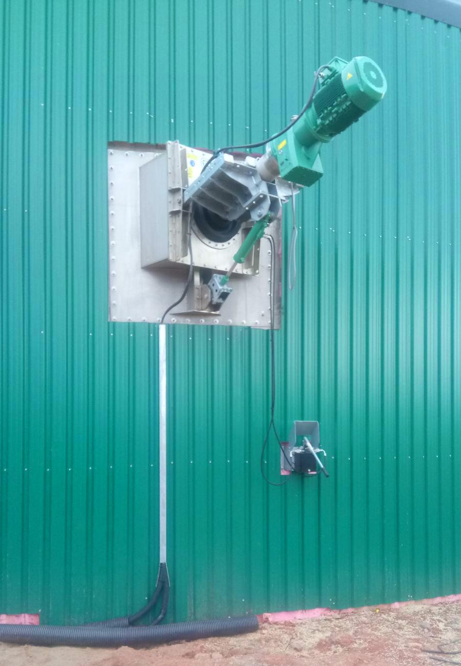 01 Instalación de Agitadores-Planta de Biogás de 1MW en Stracathro Reino Unido