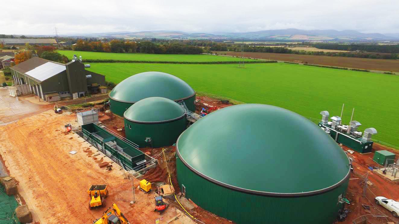 Biogas Stracathro United Kingdom Planta de Biogás de 1MW en Stracathro Reino Unido 01
