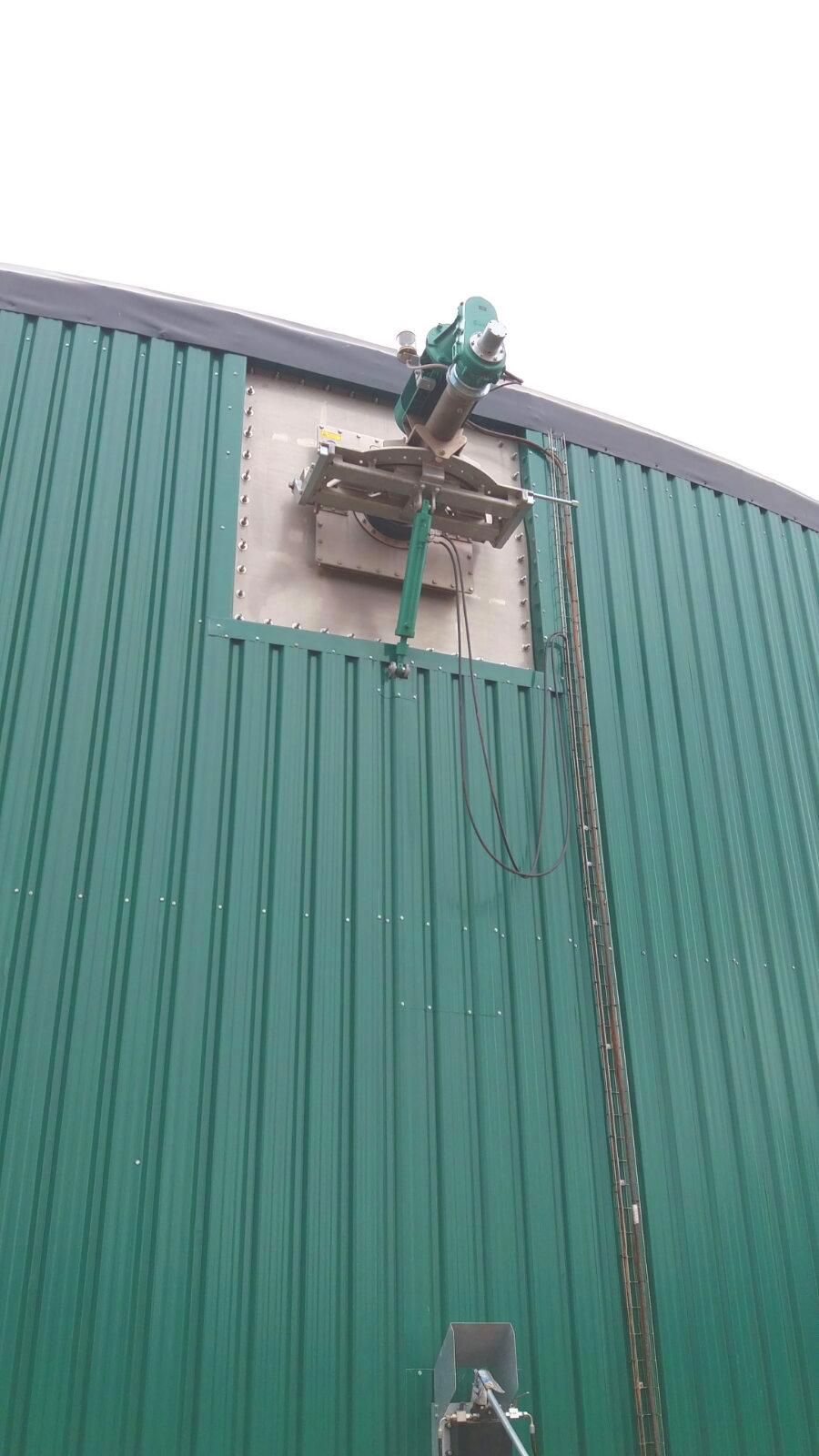 02 Instalación de Agitadores-Planta de Biogás de 1MW en Stracathro Reino Unido