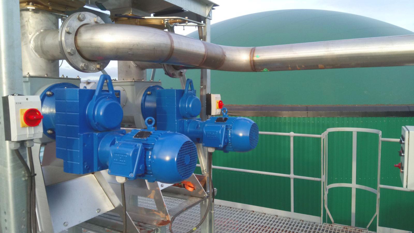 02 Instalación de Separadores y Plataforma-Planta de Biogás de 1MW en Stracathro Reino Unido