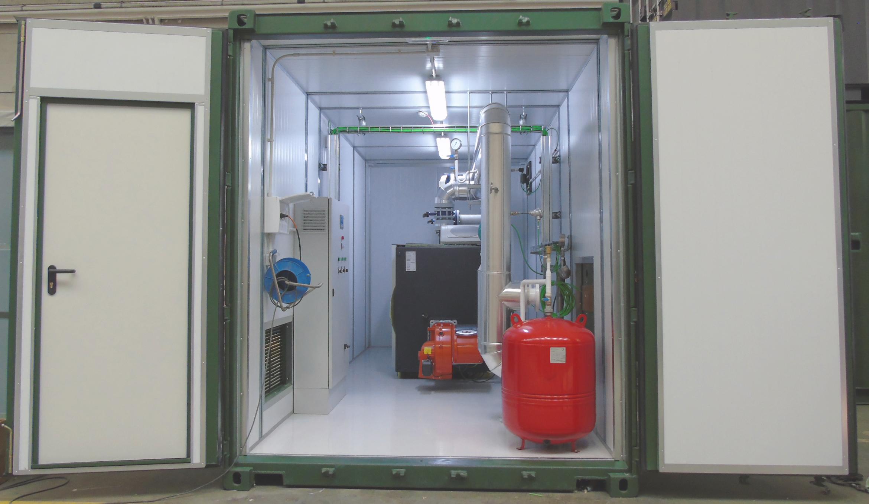 01Contenedor de Calefacción-Planta de Biogás de 1MW en Stracathro Reino Unido-Contenedor de calefaccion-Stracathro-QILA
