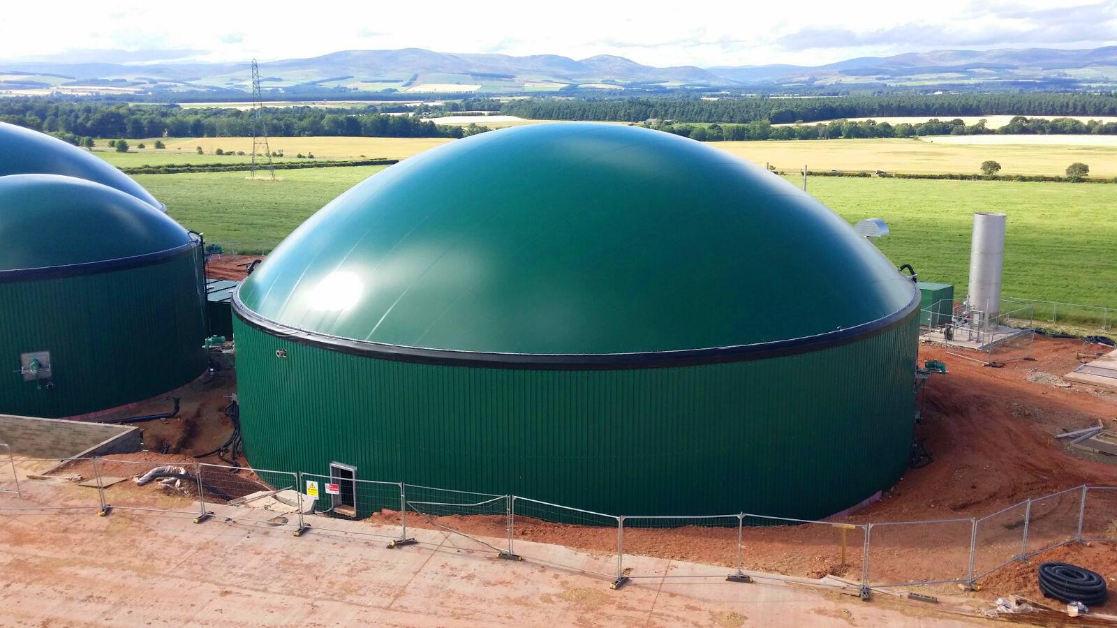 03 Instalación de Gasómetros-Planta de Biogás de 1MW en Stracathro Reino Unido