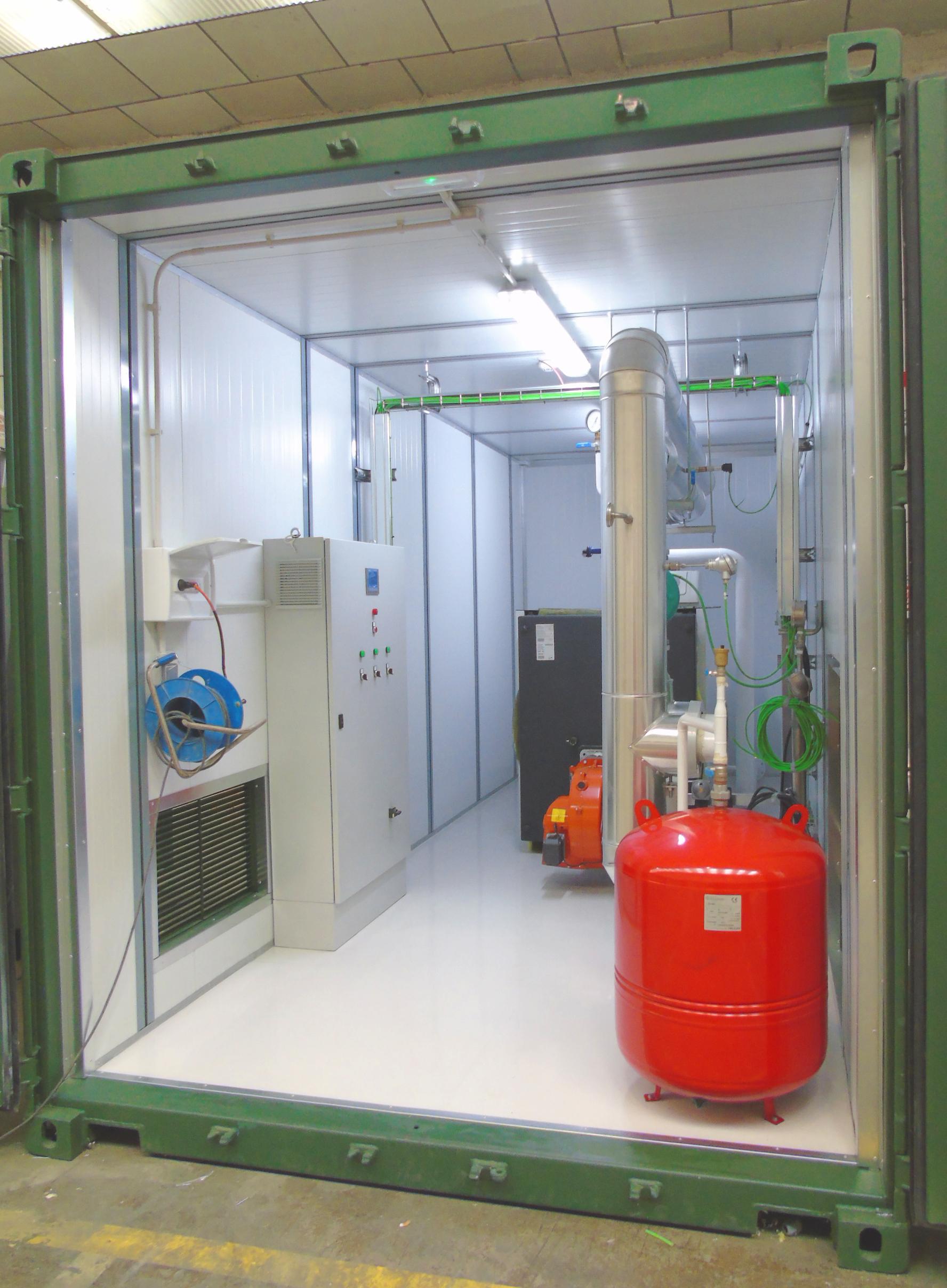 02Contenedor de Calefacción-Planta de Biogás de 1MW en Stracathro Reino Unido-Contenedor de calefaccion-Stracathro-QILA