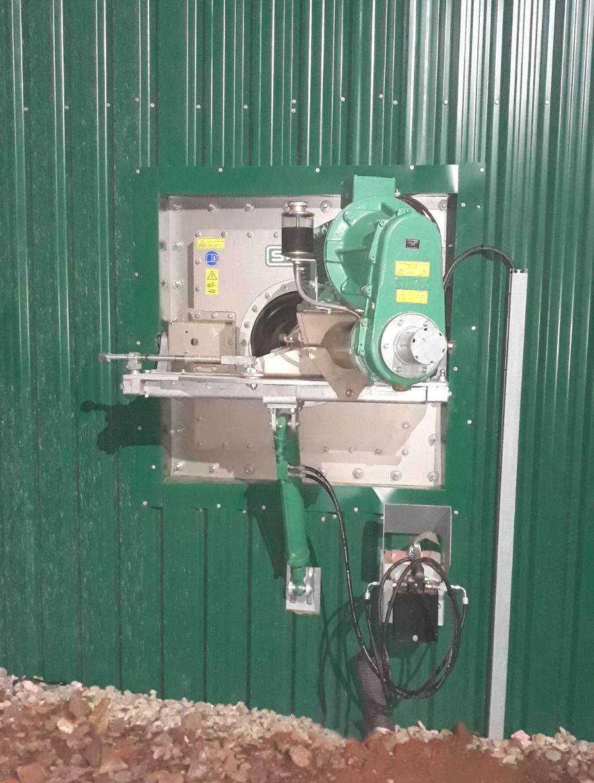 04 Instalación de Agitadores-Planta de Biogás de 1MW en Stracathro Reino Unido