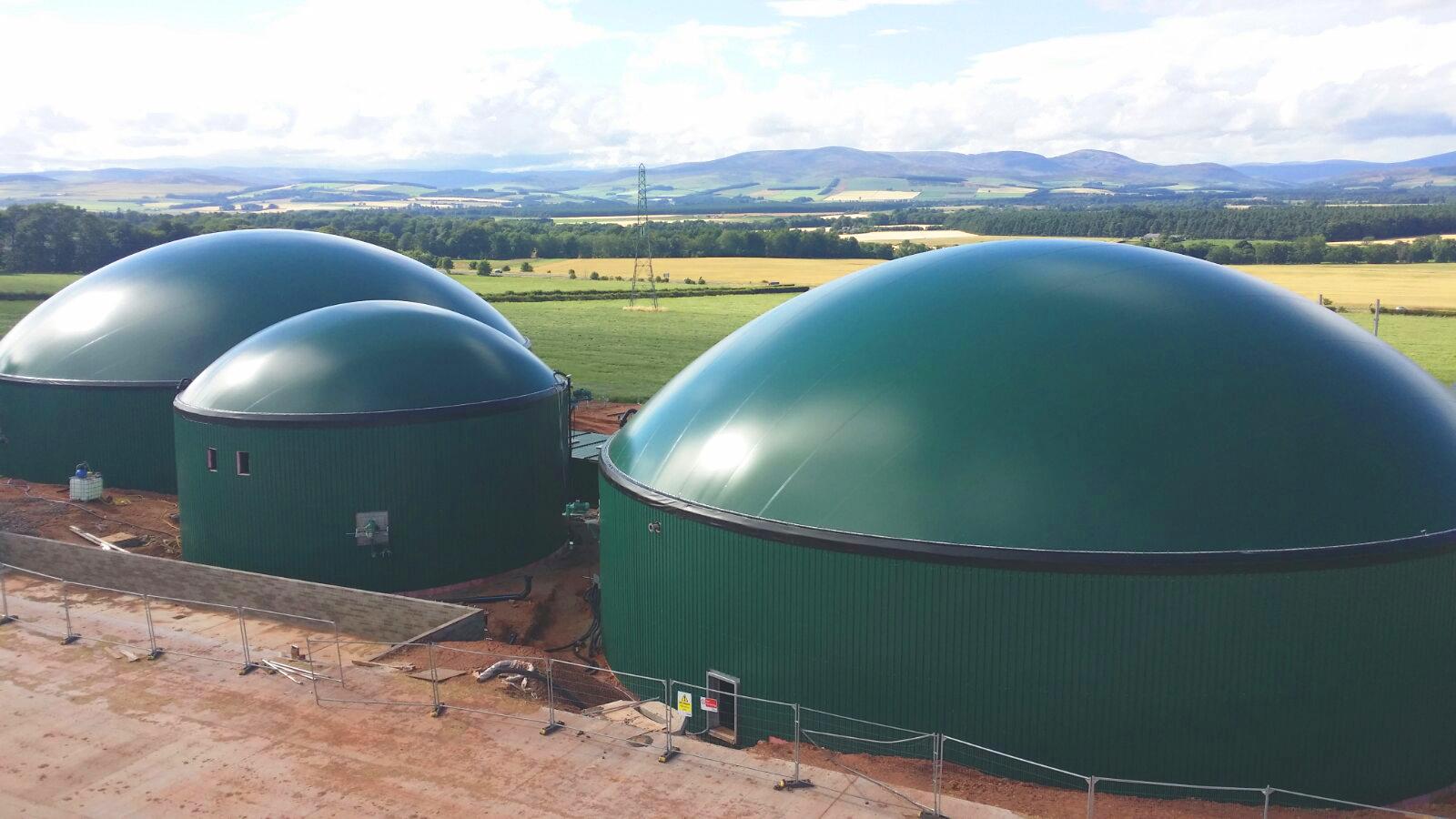 Biogas Stracathro United Kingdom 04 Instalación de Gasómetros-Planta de Biogás de 1MW en Stracathro Reino Unido