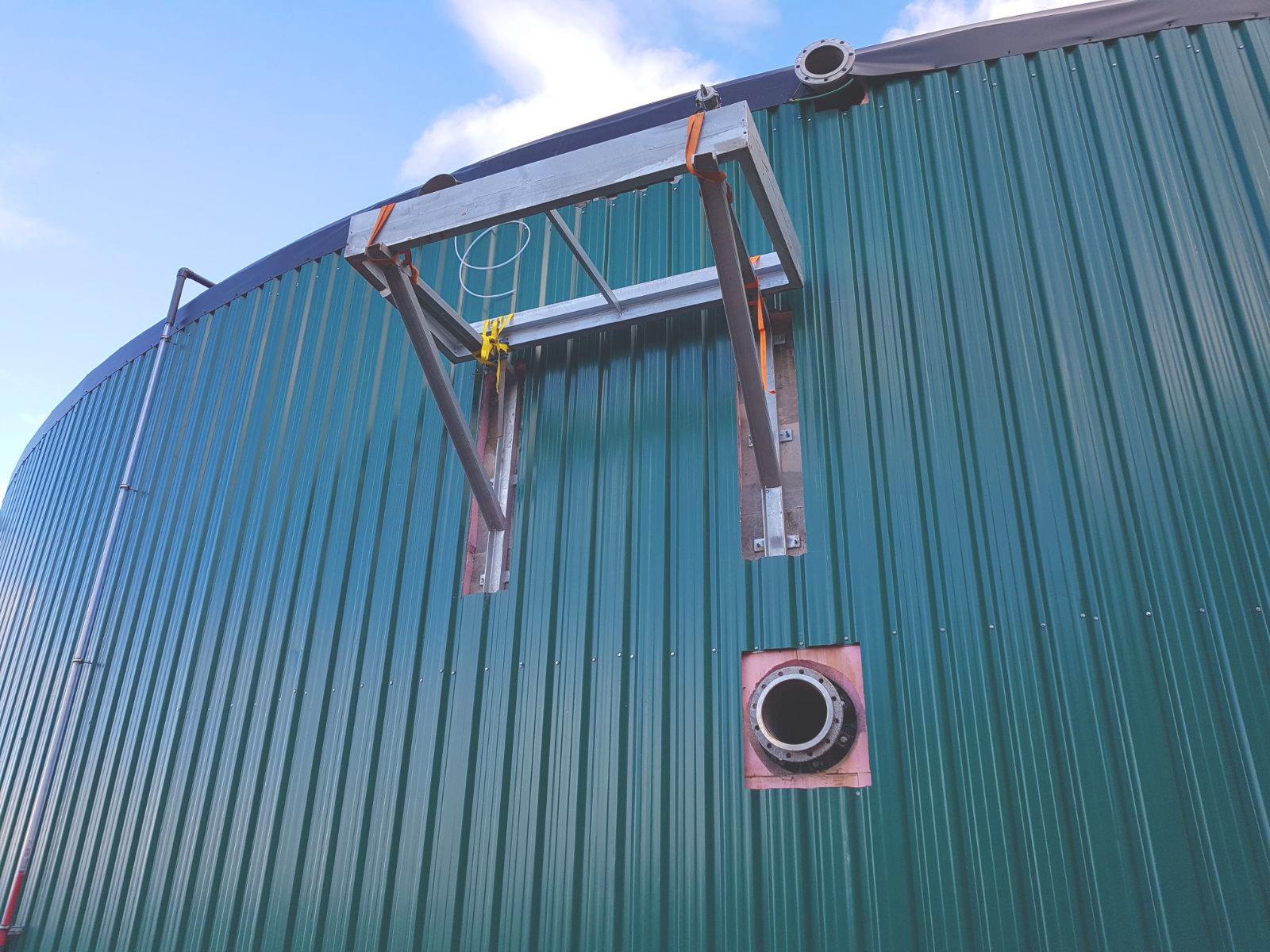 03 Escaleras y Plataformas-Planta de Biogás de 1MW en Stracathro Reino Unido