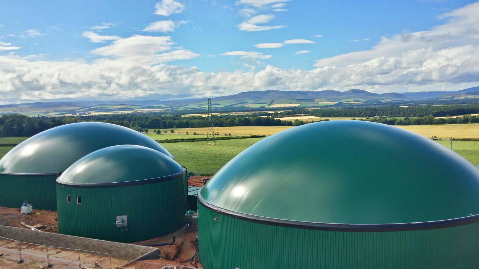 05 Instalación de Gasómetros-Planta de Biogás de 1MW en Stracathro Reino Unido