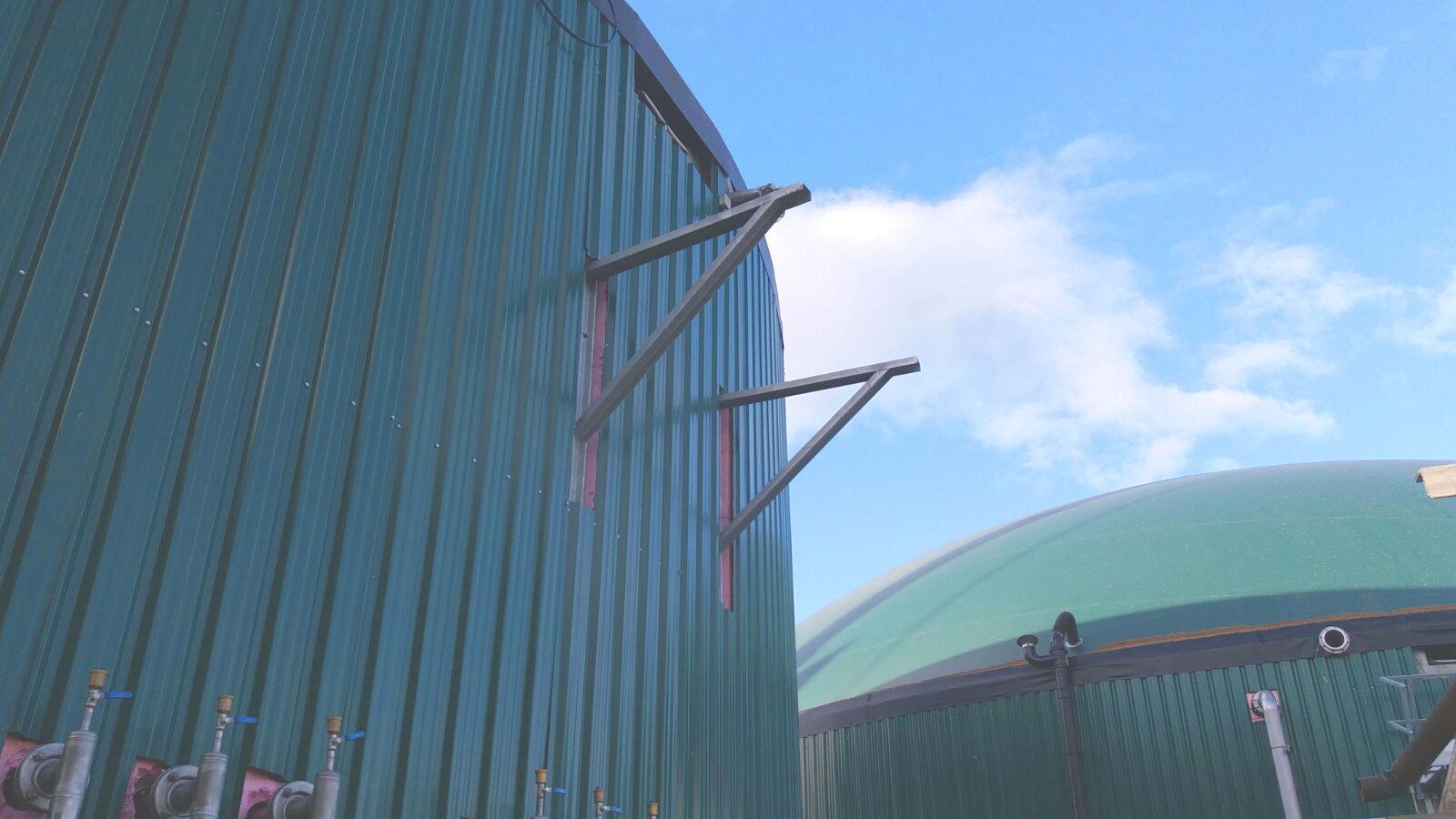 04 Escaleras y Plataformas-Planta de Biogás de 1MW en Stracathro Reino Unido