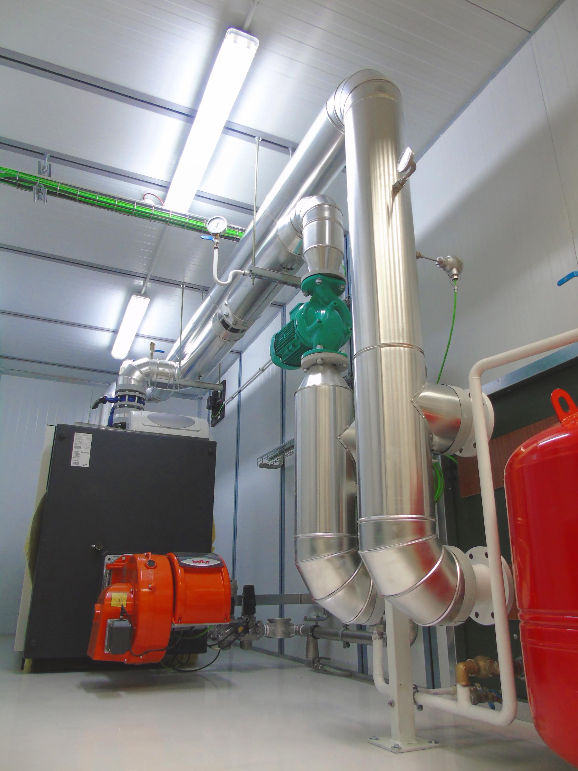 04Contenedor de Calefacción-Planta de Biogás de 1MW en Stracathro Reino Unido-Contenedor de calefaccion-Stracathro-QILA