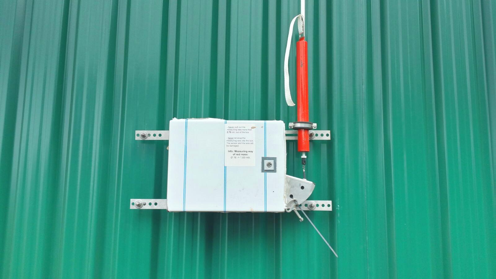 08 Sensor de Nivel de gasómetros-Planta de Biogás de 1MW en Stracathro Reino Unido