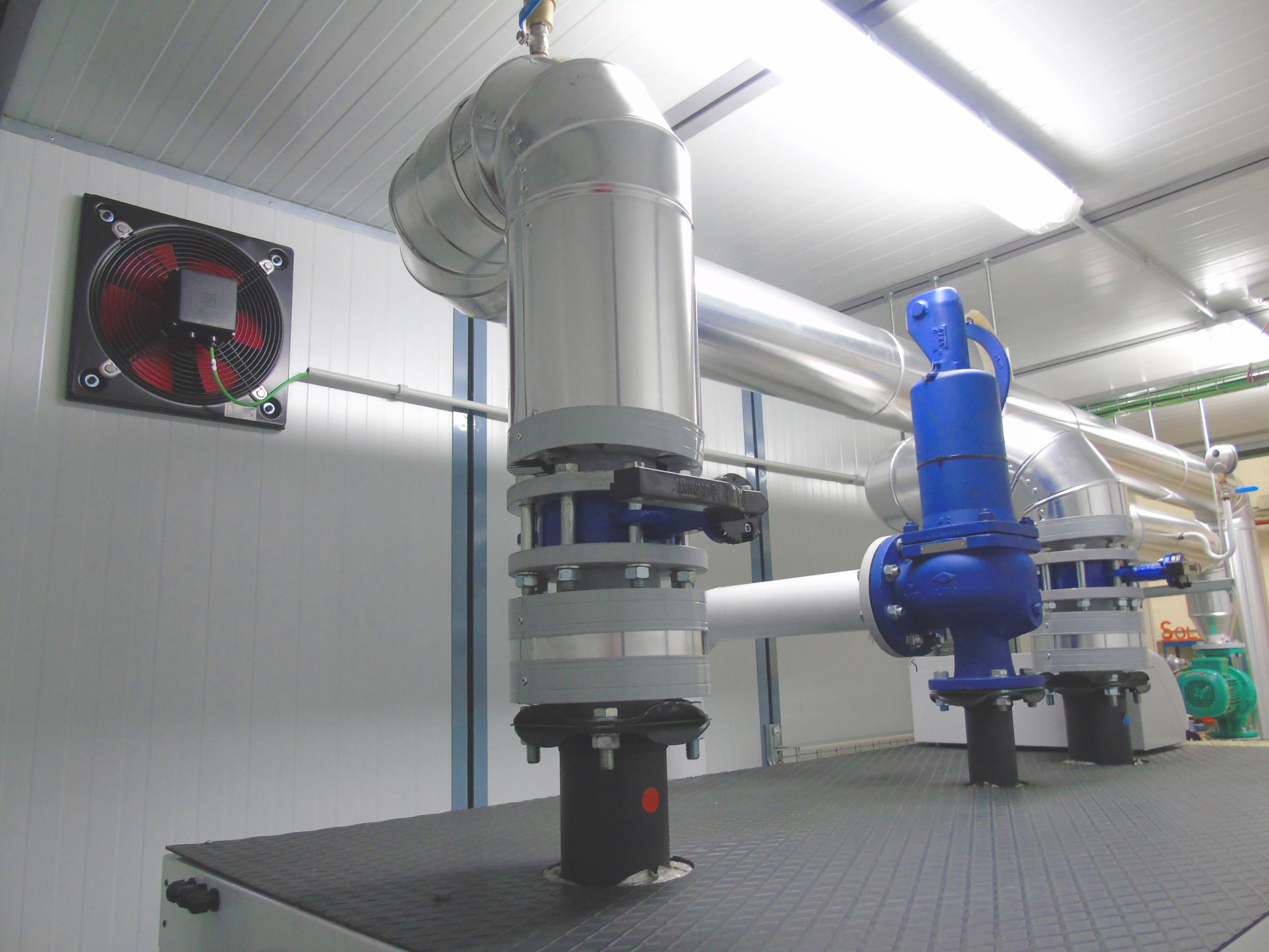 07Contenedor de Calefacción-Planta de Biogás de 1MW en Stracathro Reino Unido-Contenedor de calefaccion-Stracathro-QILA