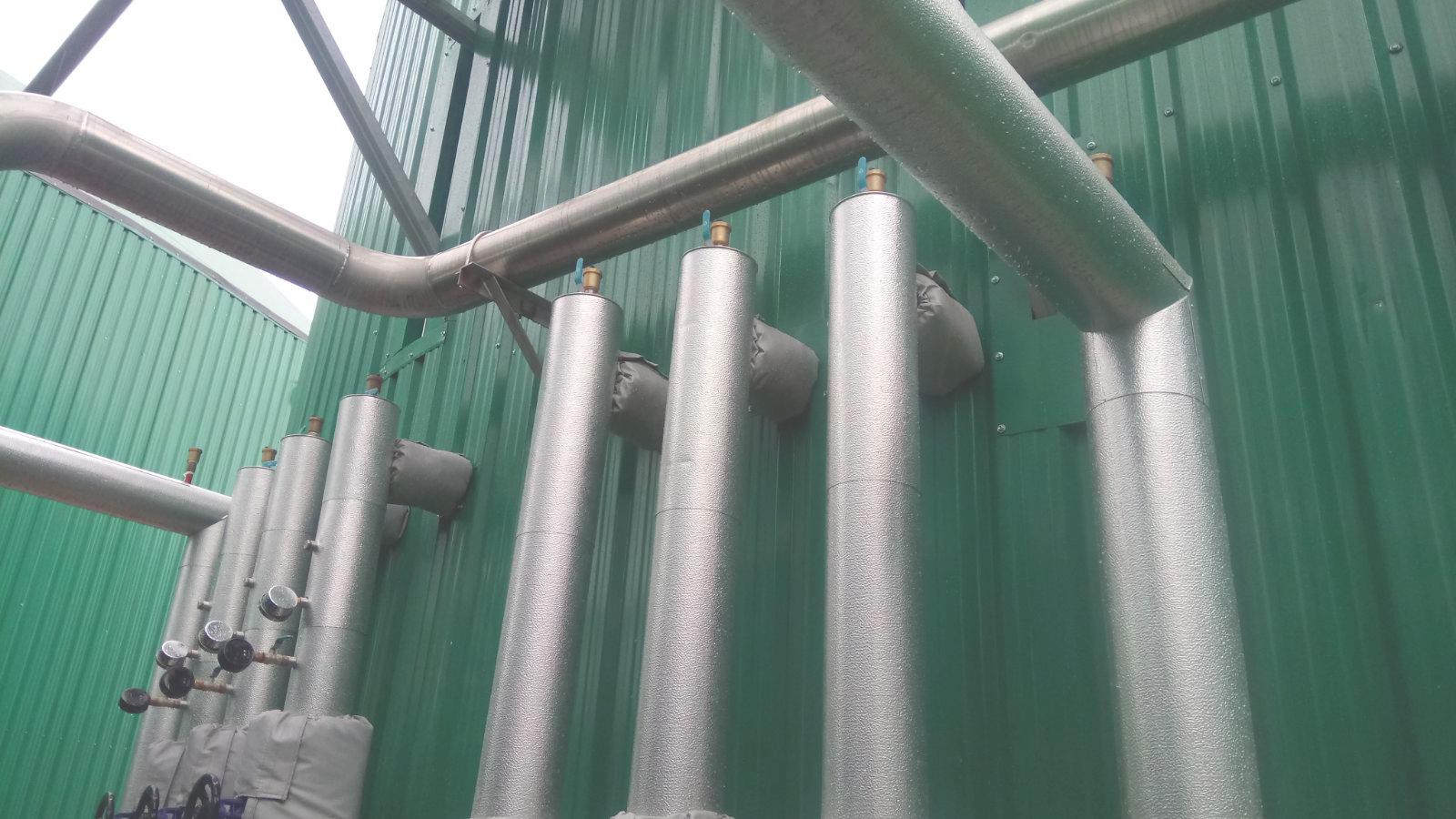 Aislamiento 02-Planta de Biogás de 1MW en Tornagrain Reino Unido