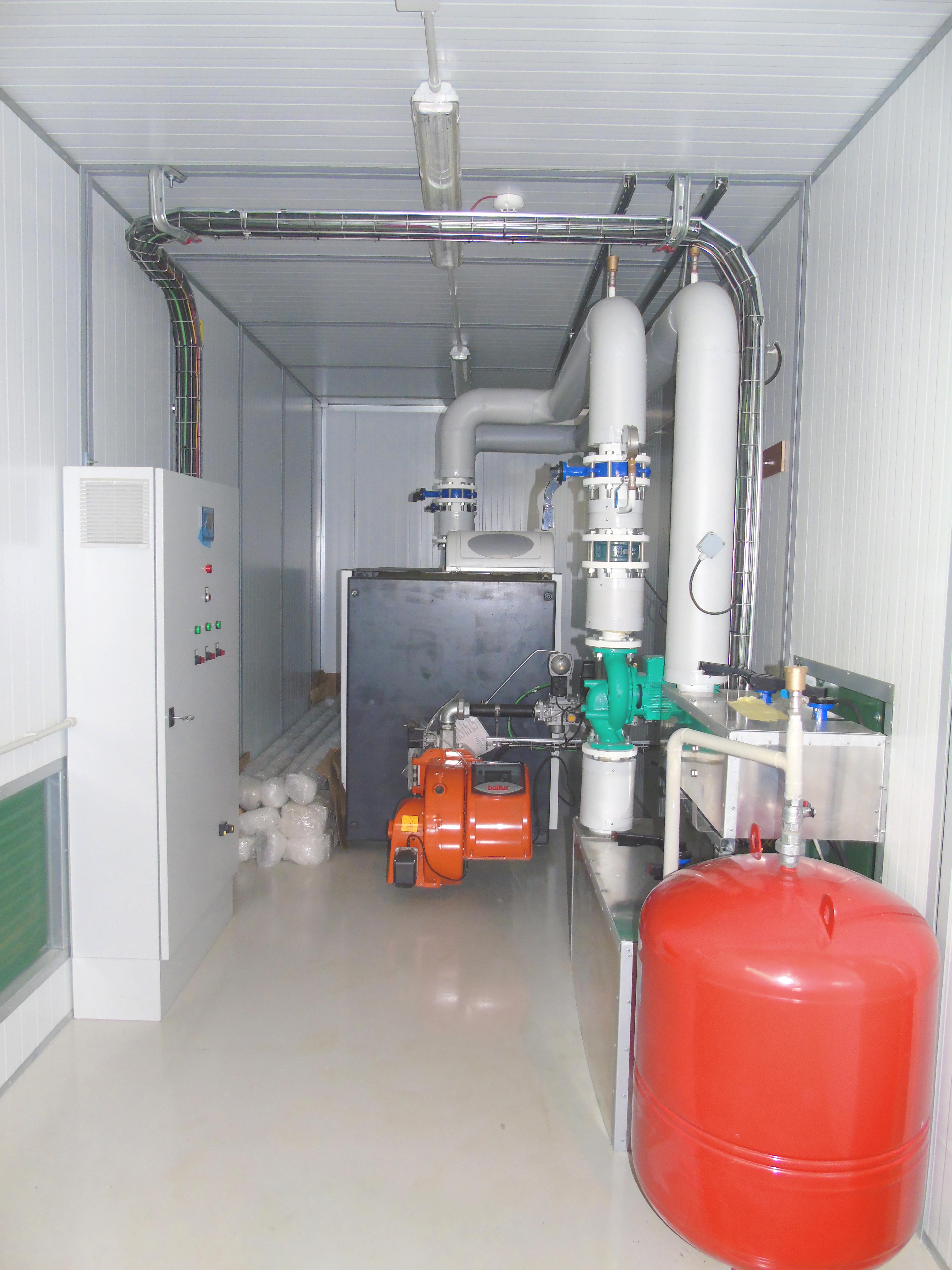 Contenedor Caldera 01-Planta de Biogás de 1MW en Tornagrain Reino Unido