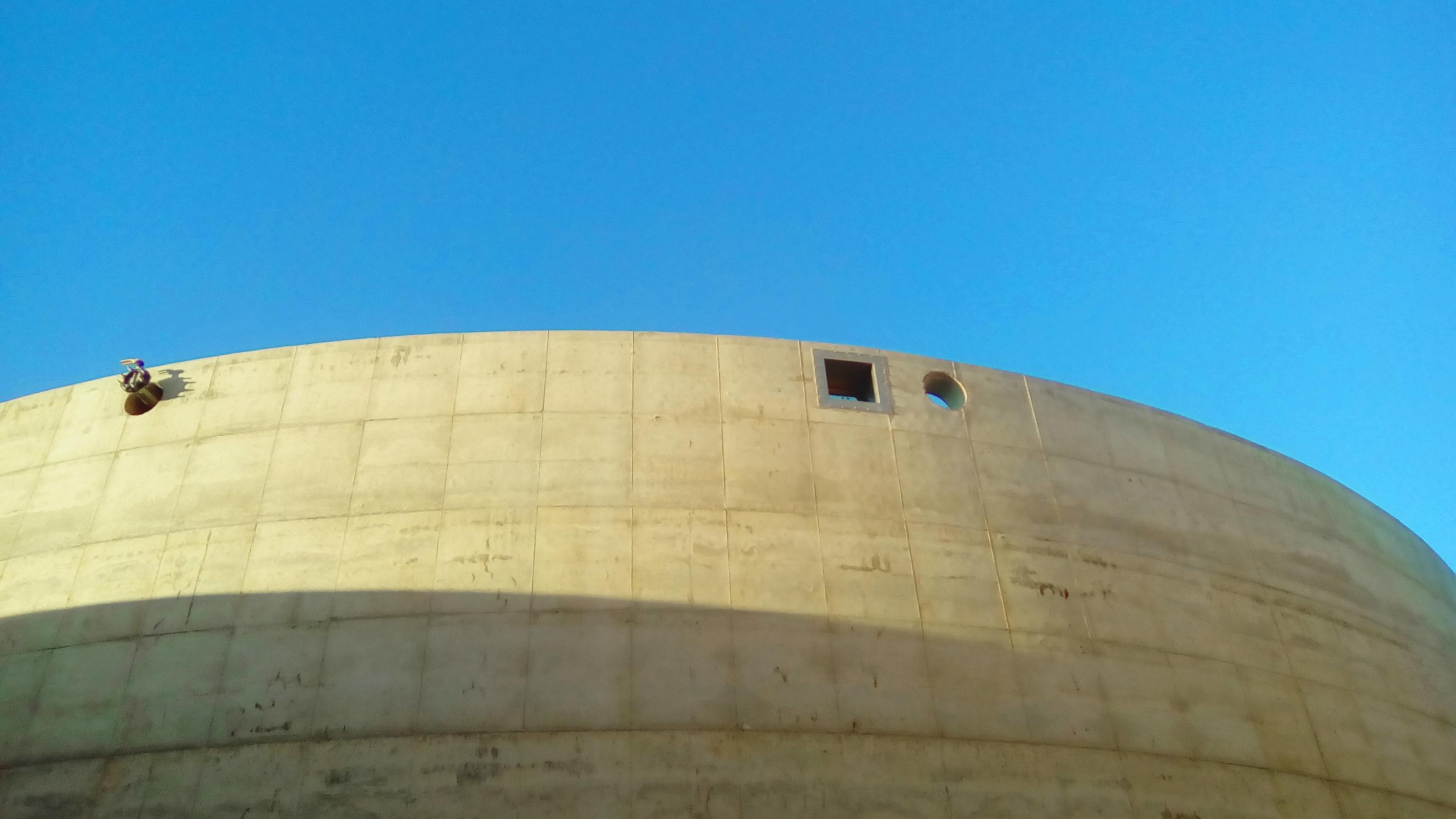 Exterior de Tanque - Mirilla y Pasamuros 01-Planta de Biogás de 1MW en Tornagrain Reino Unido