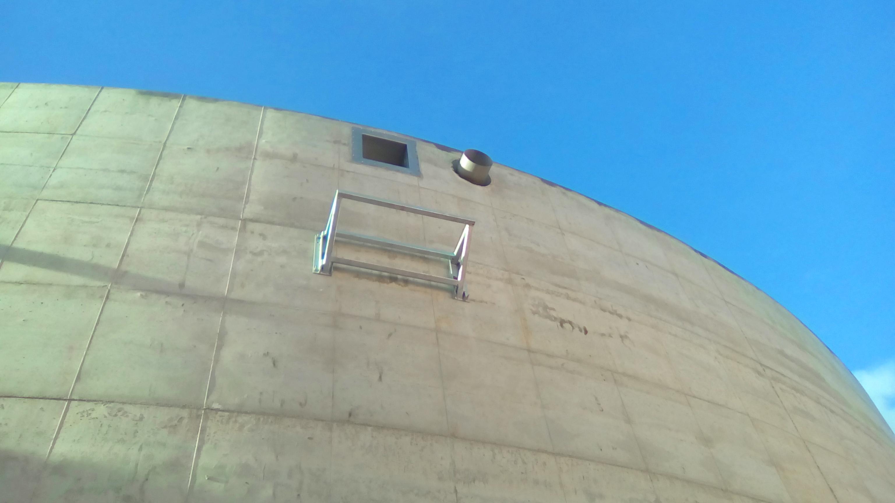Exterior de Tanque - Mirilla y Pasamuros 02-Planta de Biogás de 1MW en Tornagrain Reino Unido