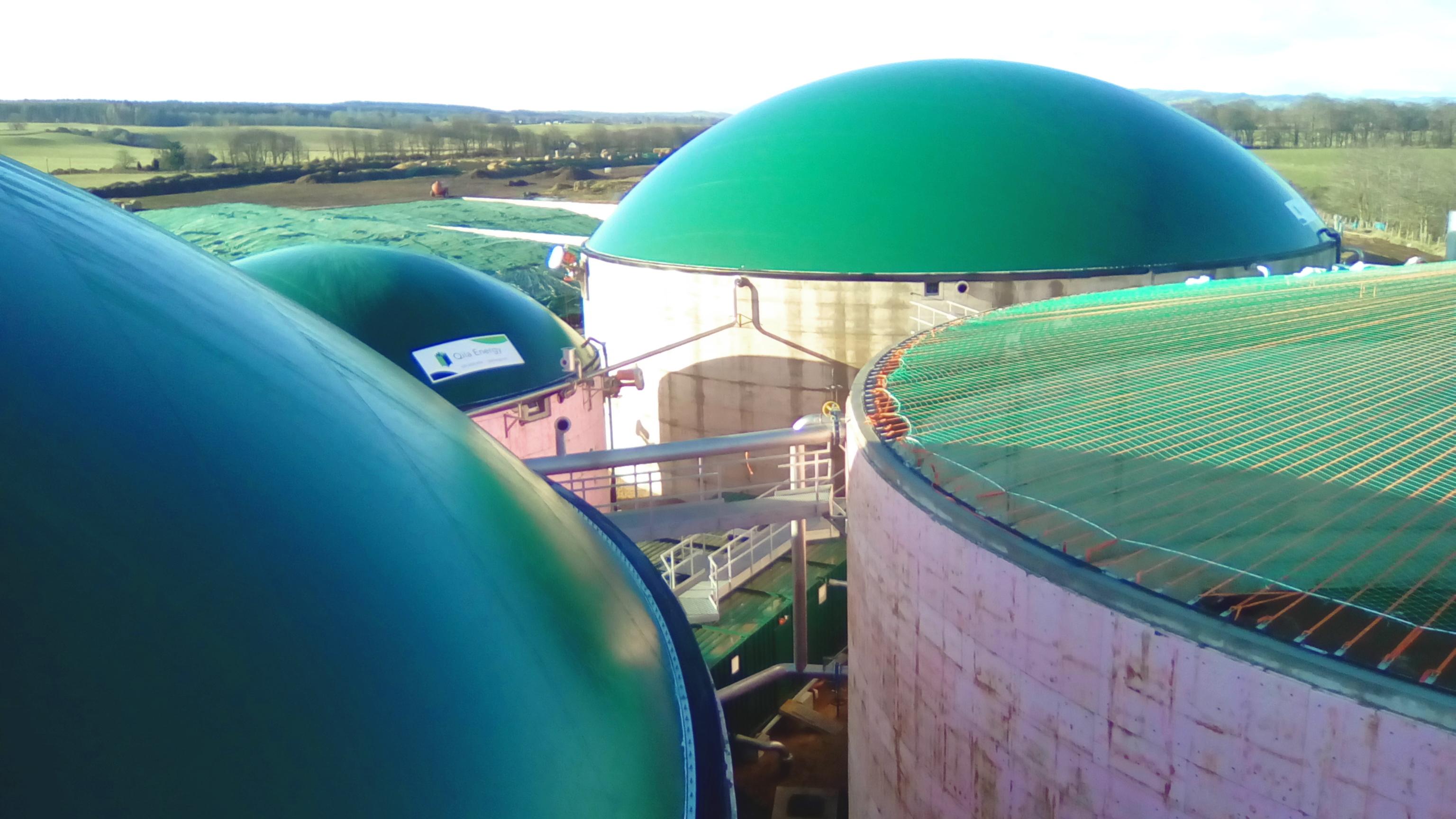 Biogas Tornagrain United Kingdom Instalación de gasómetros 02-Planta de Biogás de 1MW en Tornagrain Reino Unido