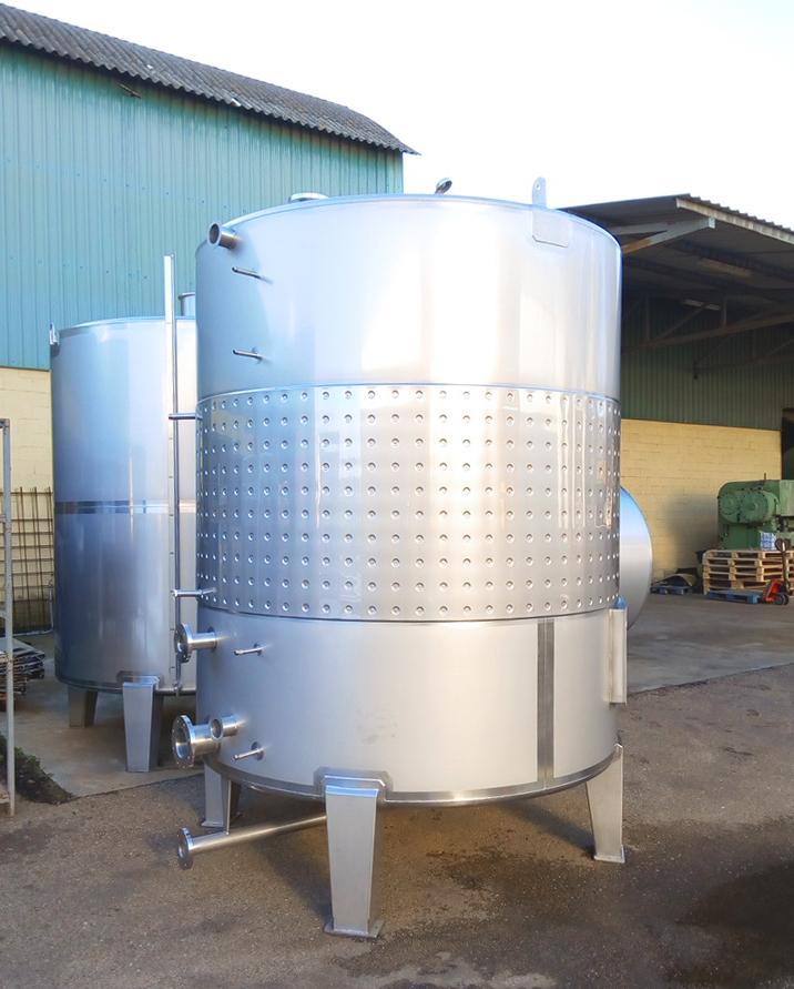 Pasteurizador 02-Planta de Biogás de 1MW en Tornagrain Reino Unido