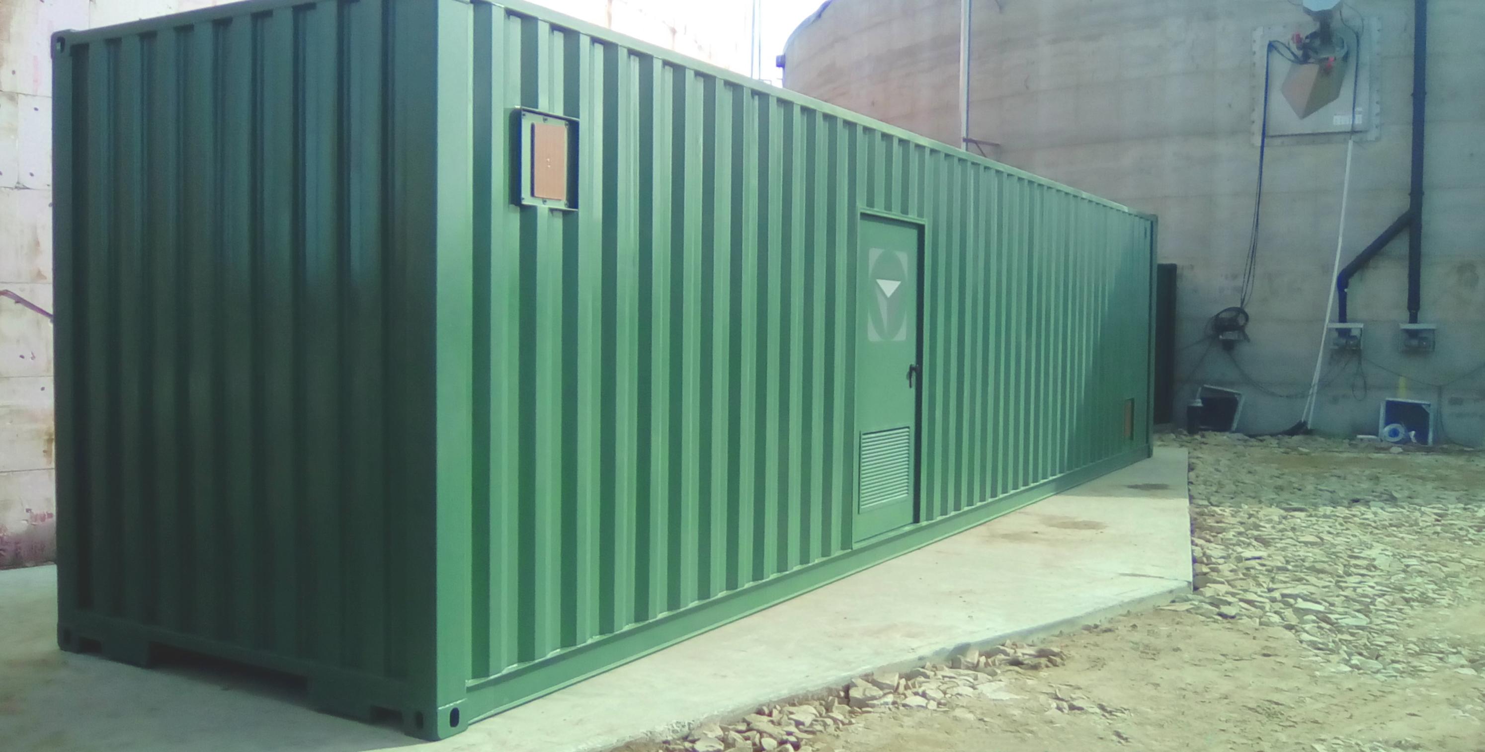 Pasteurizador 05-Planta de Biogás de 1MW en Tornagrain Reino Unido