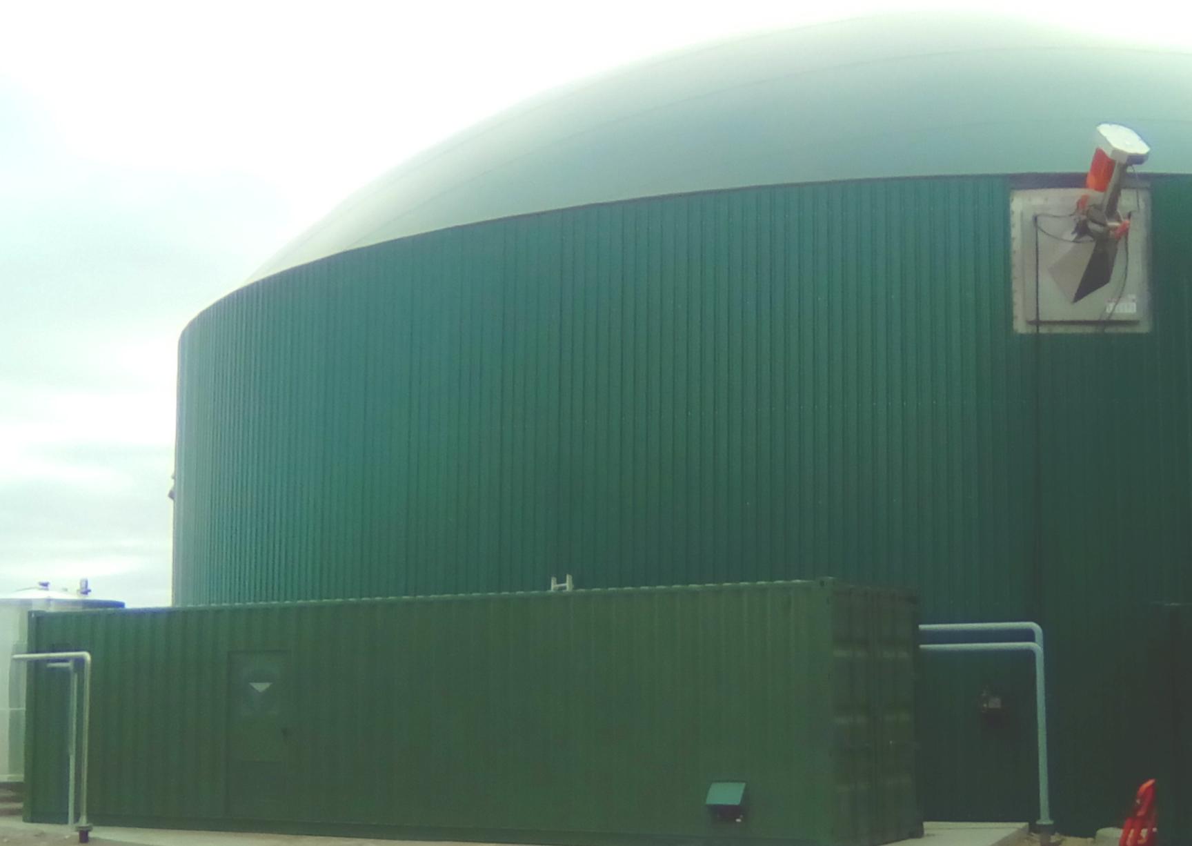 Pasteurizador 06-Planta de Biogás de 1MW en Tornagrain Reino Unido