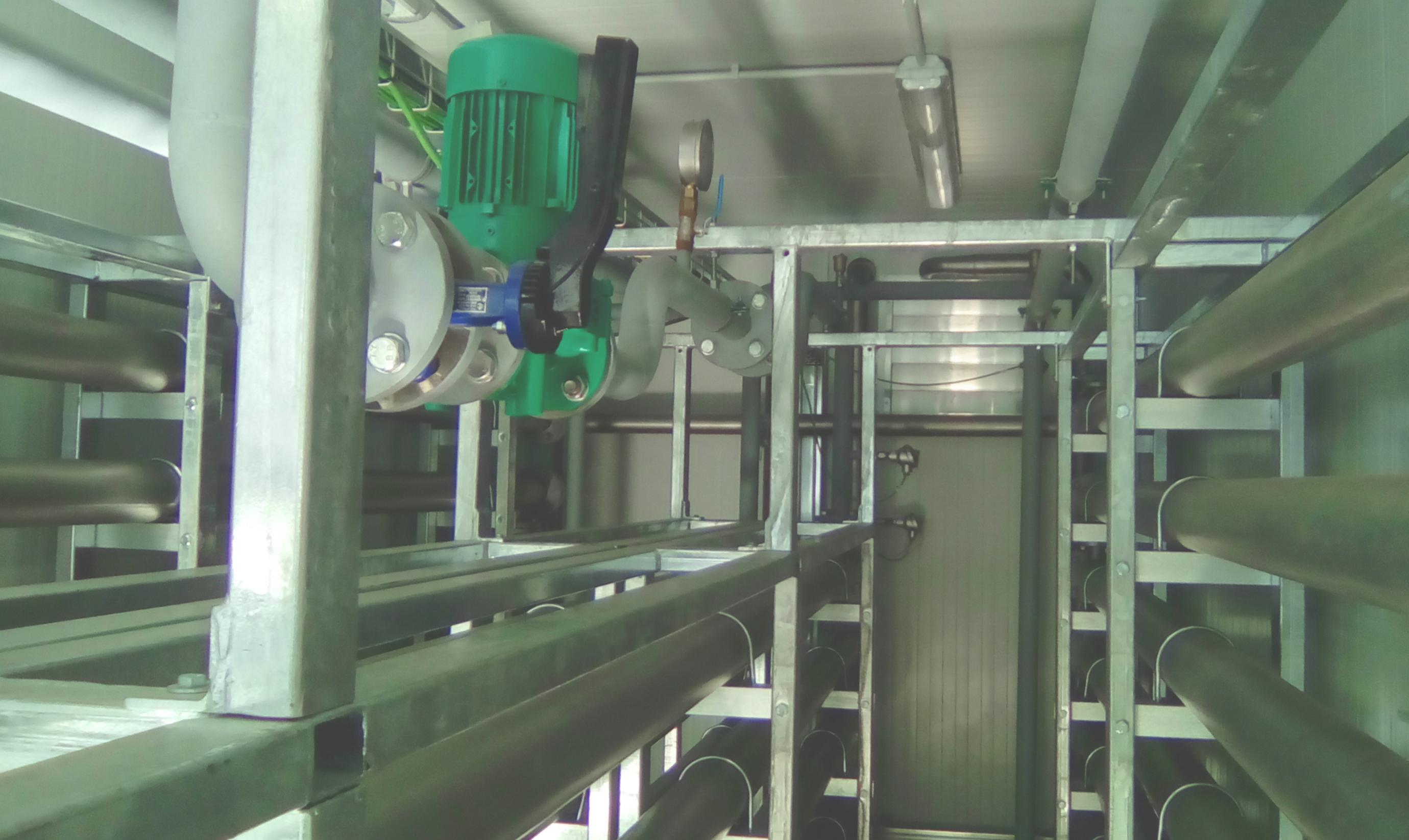 Pasteurizador 09-Planta de Biogás de 1MW en Tornagrain Reino Unido