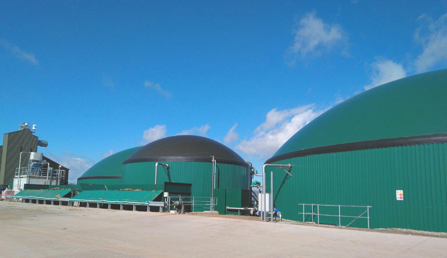 Biogas Stracathro United Kingdom Planta de Biogás de 1MW en Stracathro Reino Unido 02