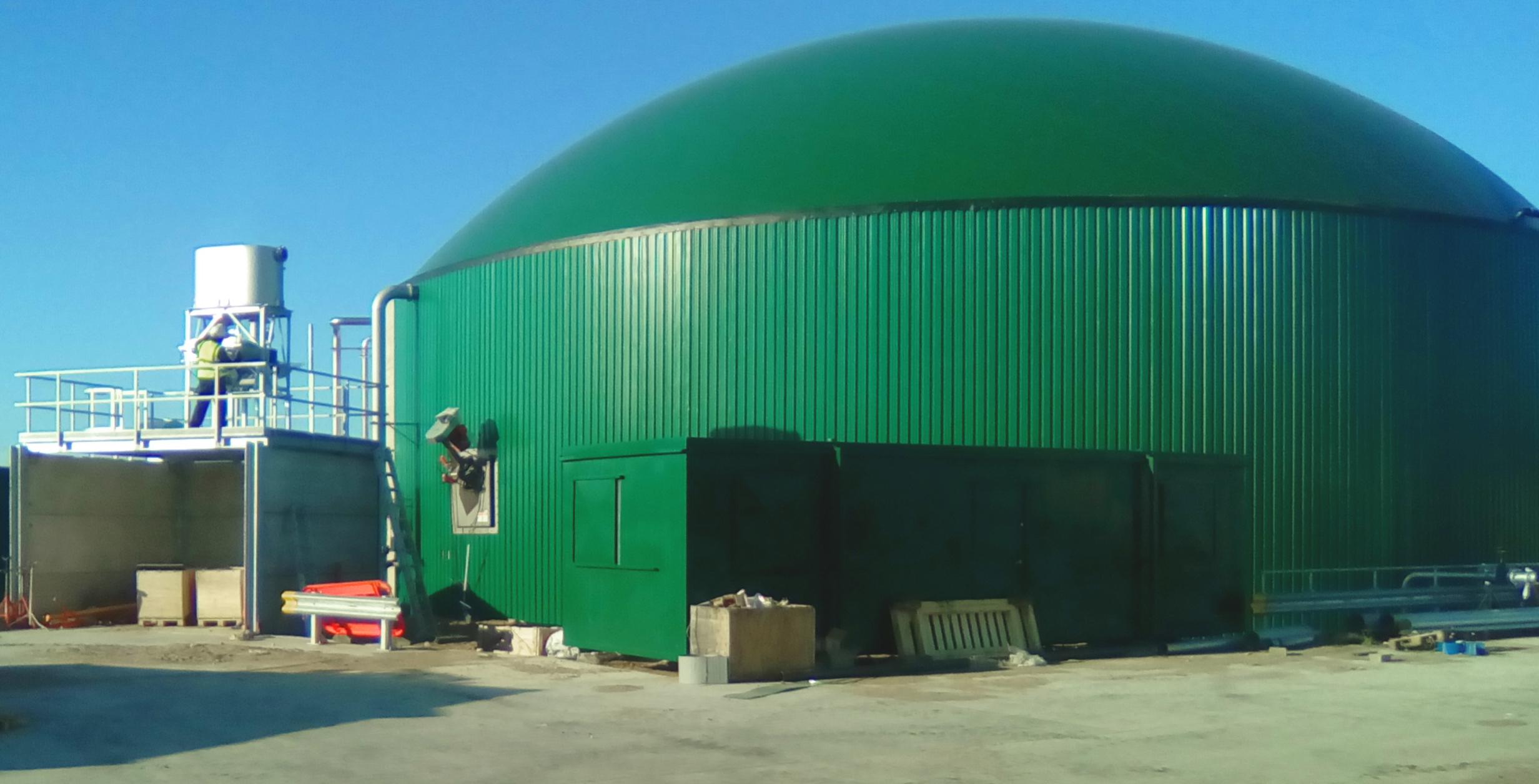 Planta de Biogás de 1MW en Tornagrain Reino Unido 02