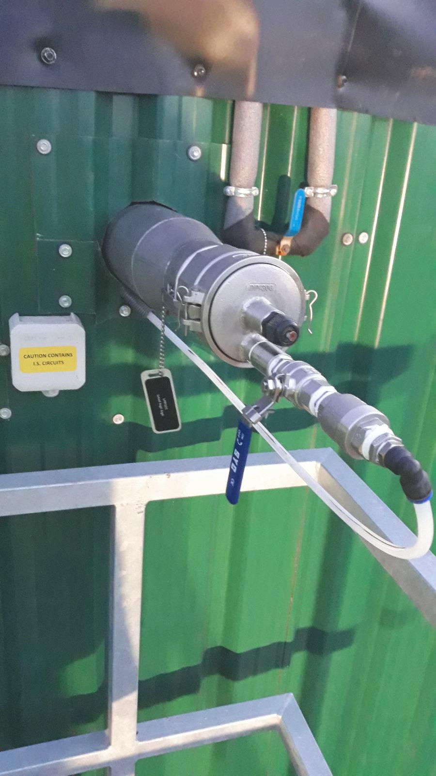 Biogas Stracathro United Kingdom Sensor de Nivel Alto de Tanque-Planta de Biogás de 1MW en Stracathro Reino Unido