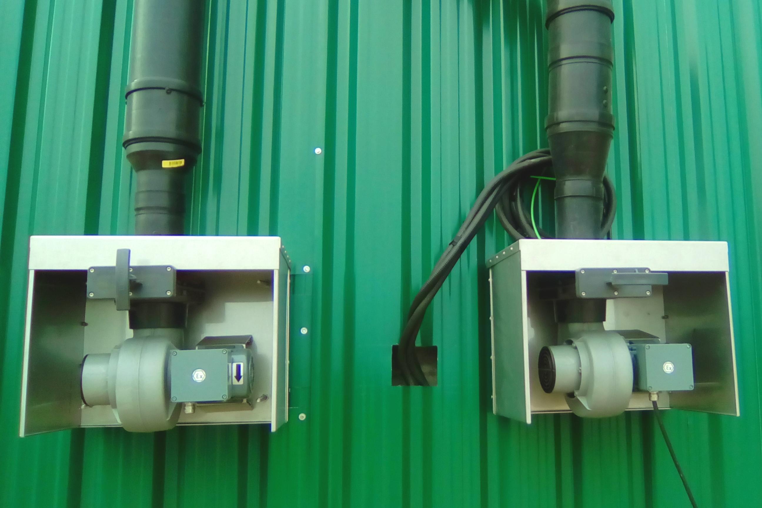 Soplantes de gasómetros-Planta de Biogás de 1MW en Tornagrain Reino Unido