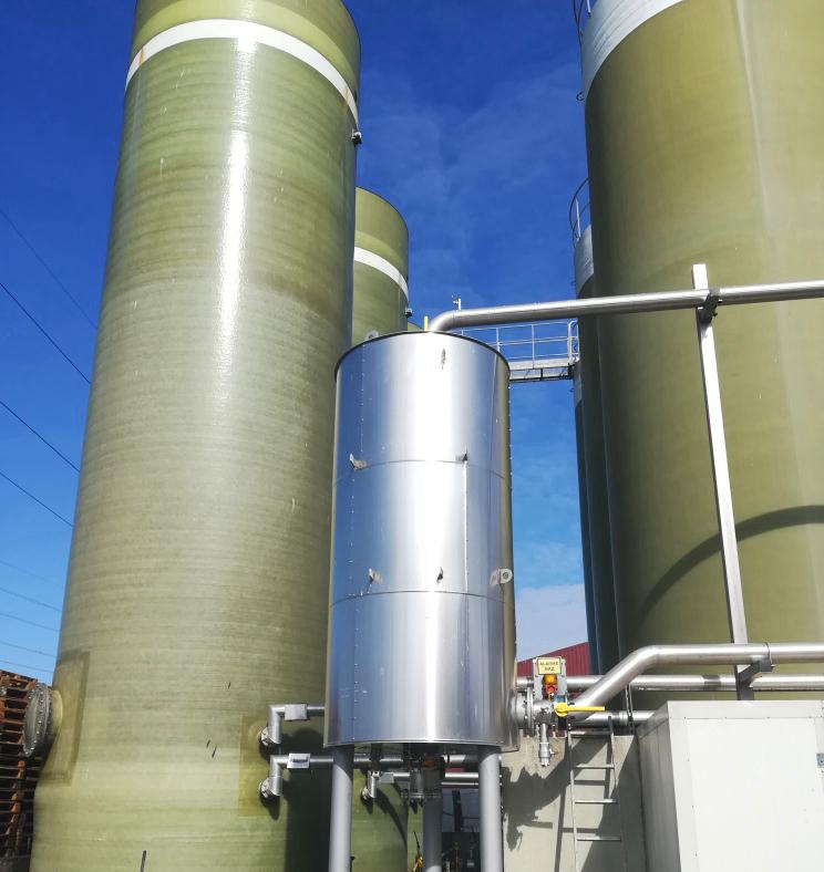 Biogás Vitaligaz Étréville Francia 02 Modificación línea de gas a motor CHP-Vitaligaz-Envitec