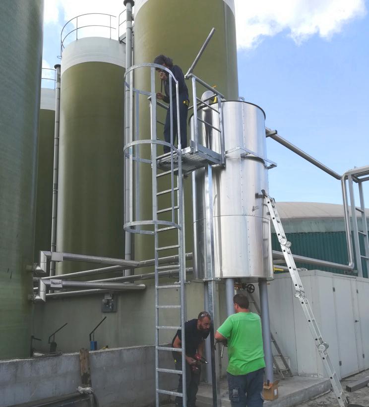 03 Modificación línea de gas a motor CHP-Vitaligaz-Envitec