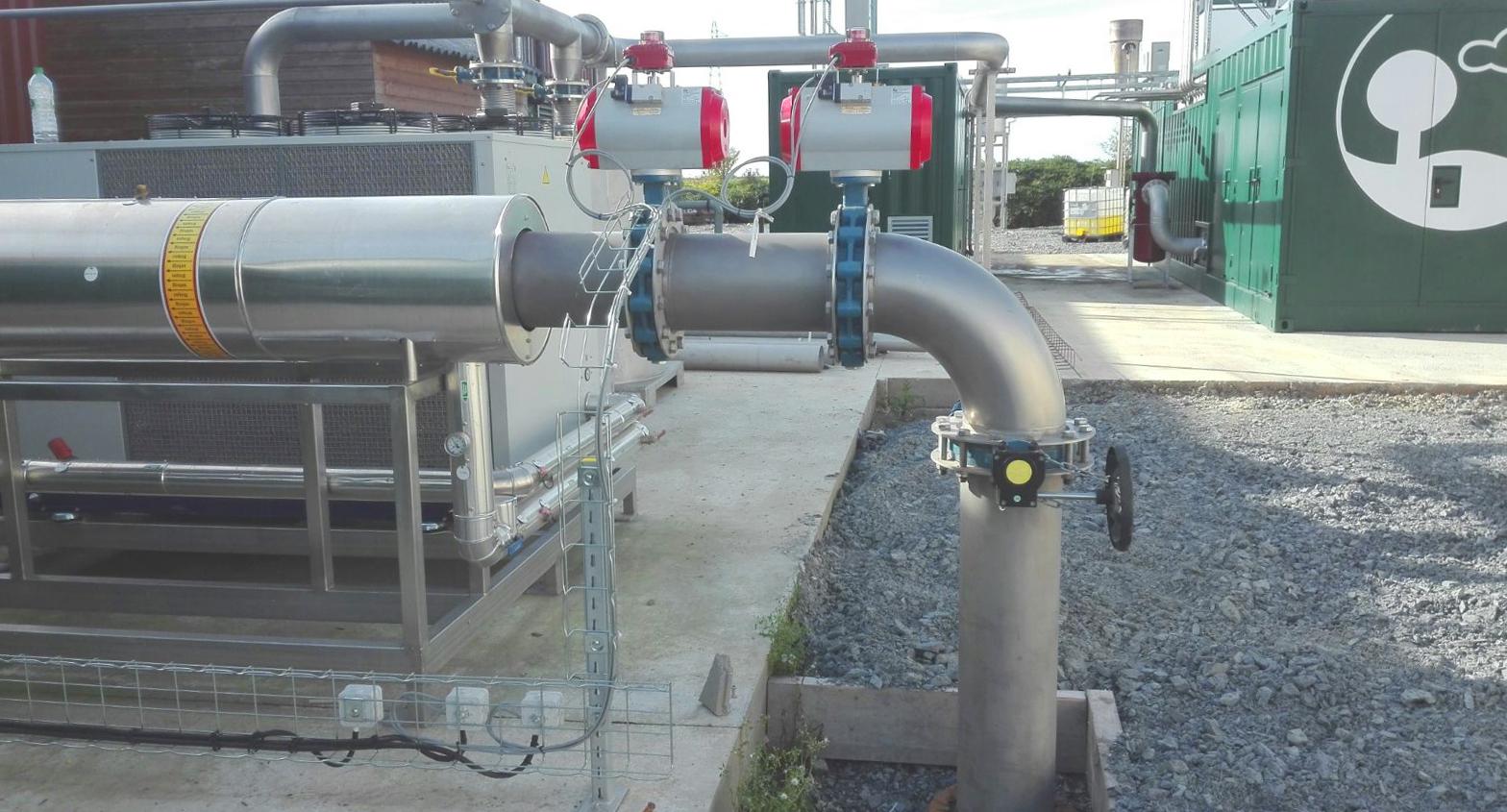 Biogás Vitaligaz Étréville Francia 04 Gas cooling-Vitaligaz-Envitec
