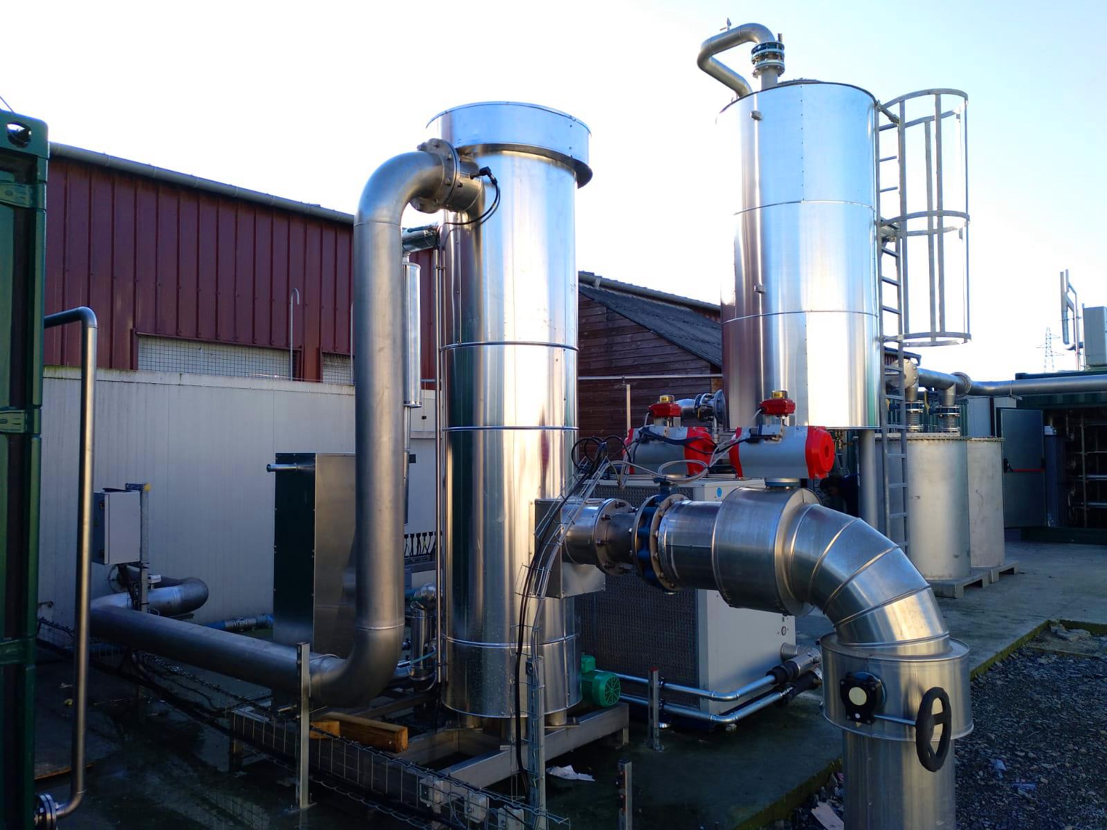 Biogás Vitaligaz Étréville Francia 04 Modificación de gas cooling-Vitaligaz-Envitec