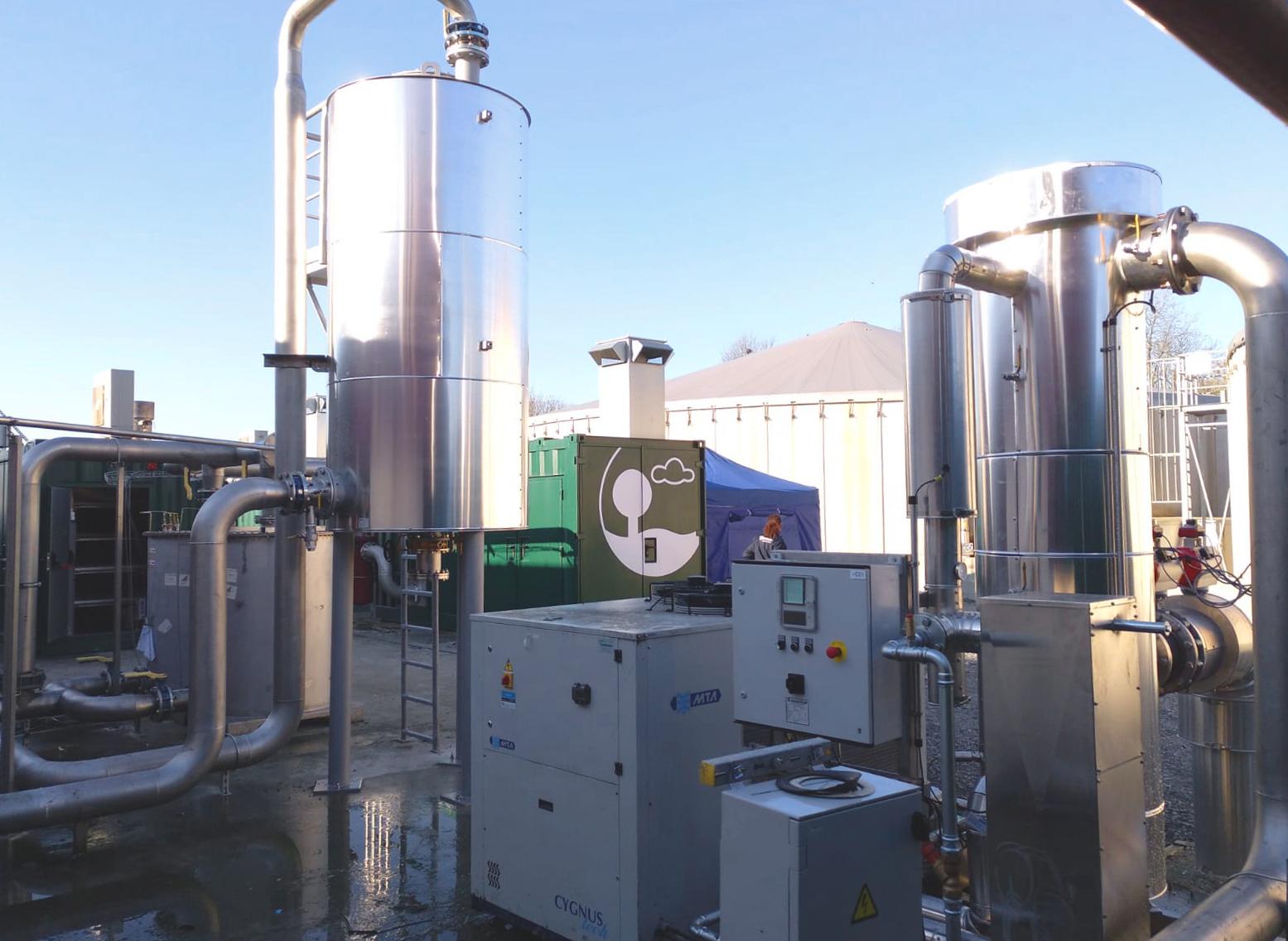 Biogás Vitaligaz Étréville Francia 05 Modificación de gas cooling-Vitaligaz-Envitec