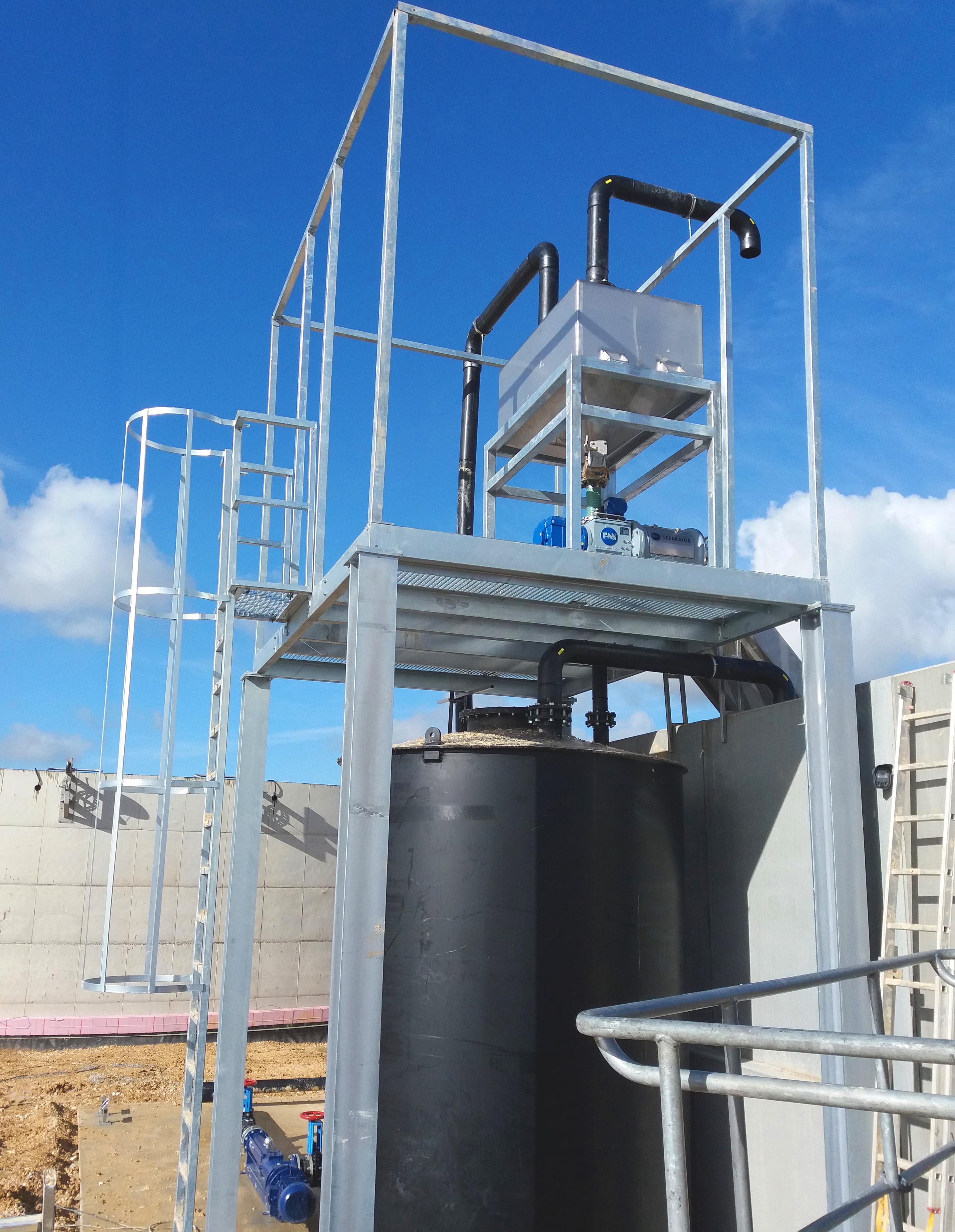 Biogas Fertioise Coudun France 11 Platformas-Fertioise-ENVITEC-Planta-Biogas-Compiegne-Francia