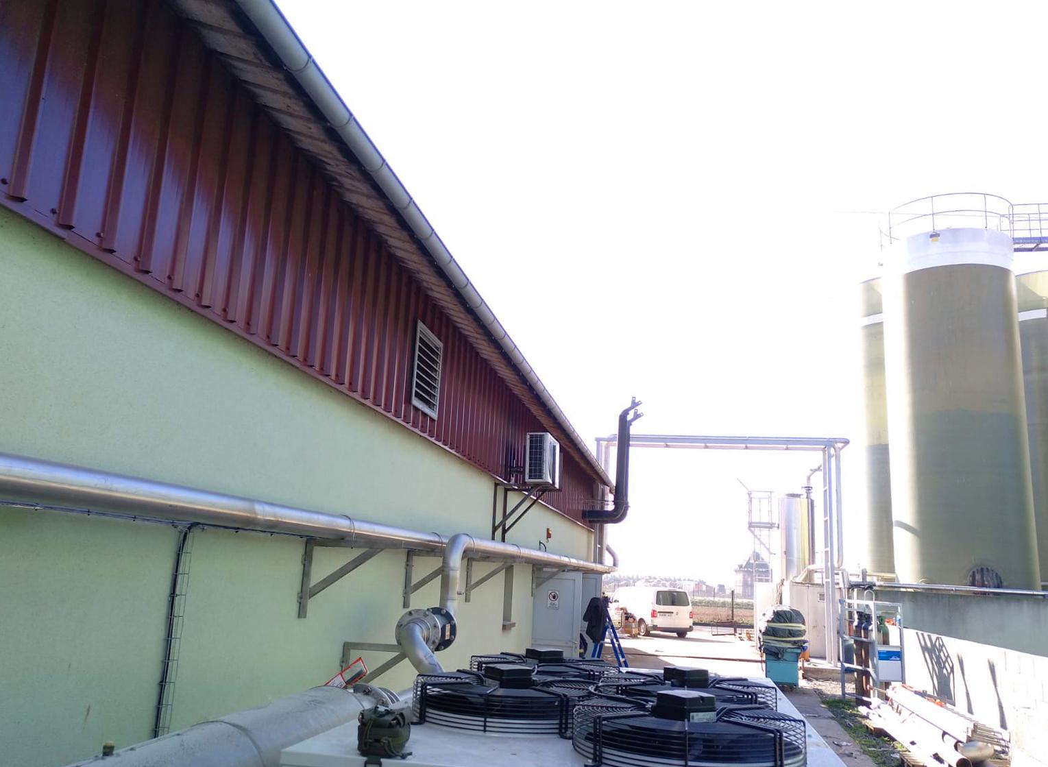 12 Modificación línea de gas a motor CHP-Vitaligaz-Envitec