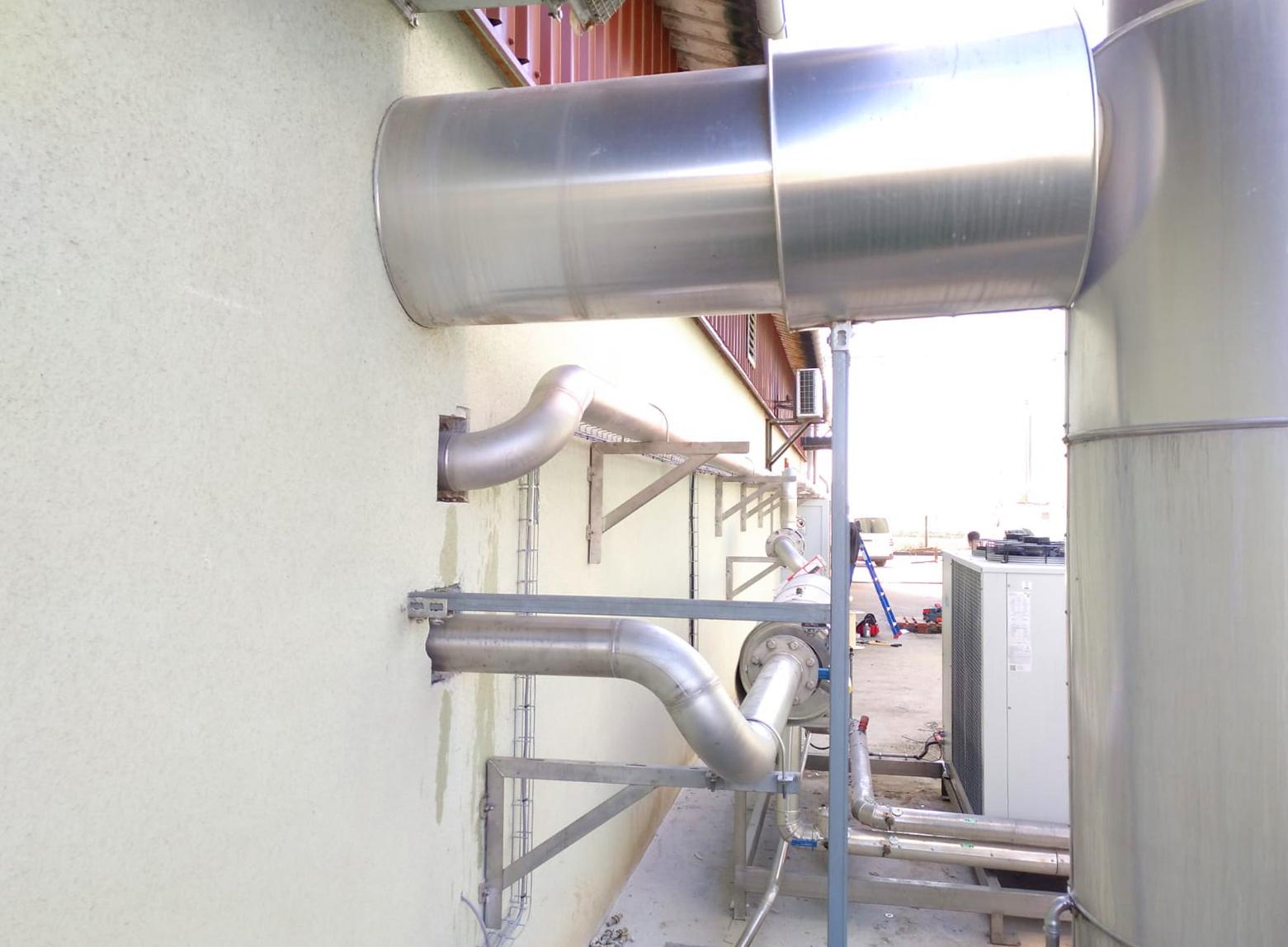 14 Modificación línea de gas a motor CHP-Vitaligaz-Envitec
