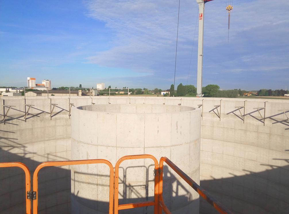 Agristo Water Treatment Wielsbeke Estructura Plataforma Circular-Agristo-BIO DYNAMICS 03