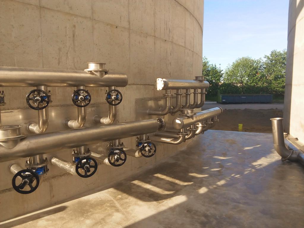 Agristo Water Treatment Wielsbeke Estructura Plataforma Circular-Agristo-BIO DYNAMICS 10