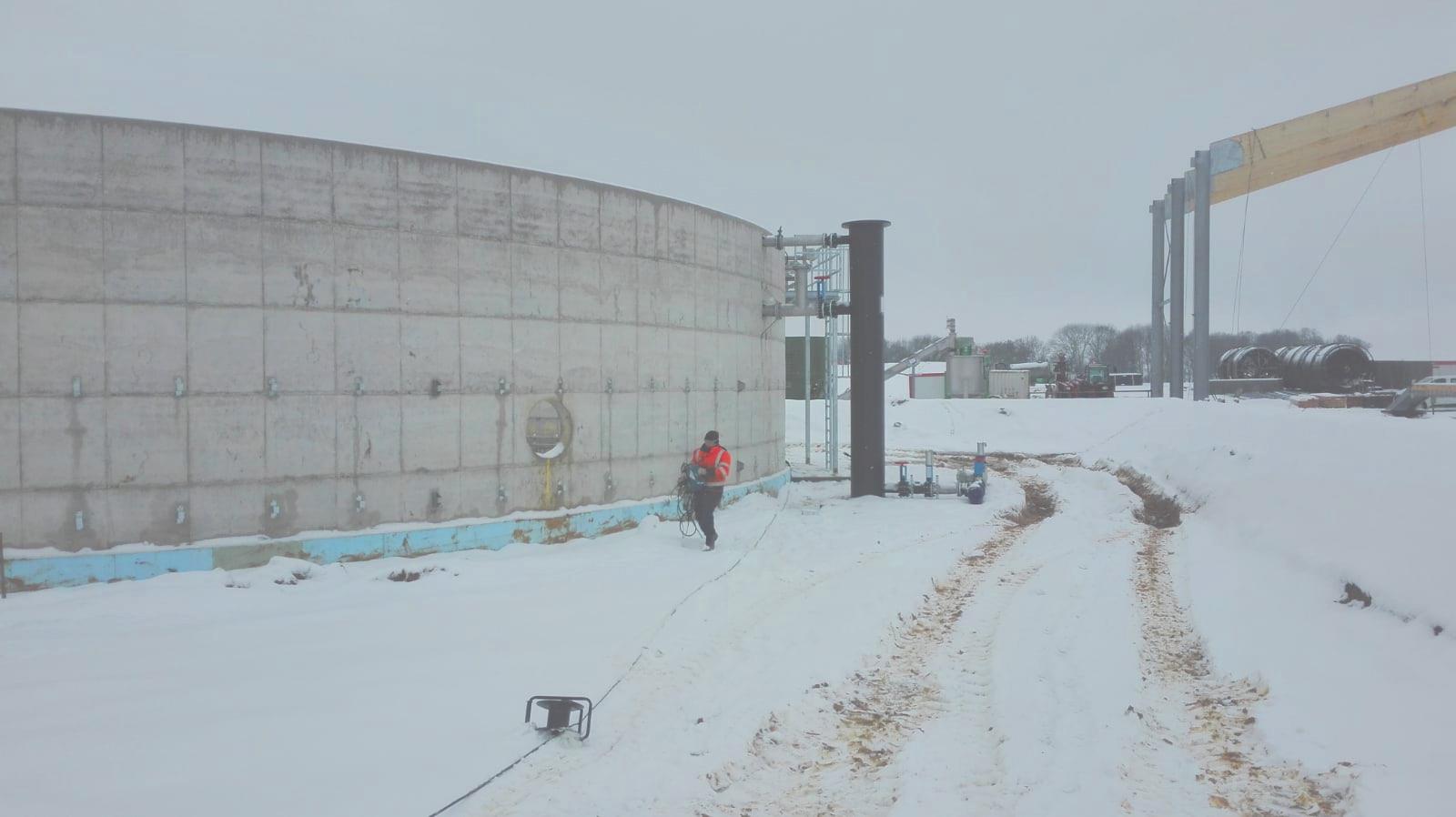 Mahé Biogas Boutigny France Planta biogas-Mahe Boutigny Francia-Envitec 02