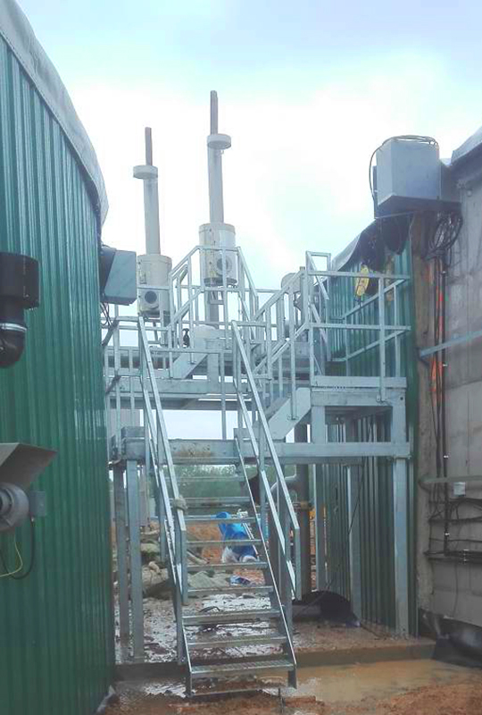 Mahé Biogas Boutigny France Plataformas-Mahe-Envitec 01